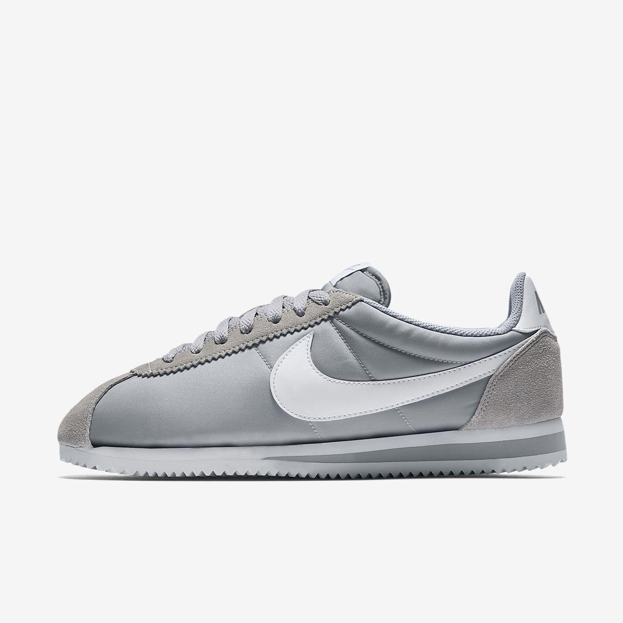 new styles 3148b b0e5c ... Chaussure mixte Nike Classic Cortez Nylon