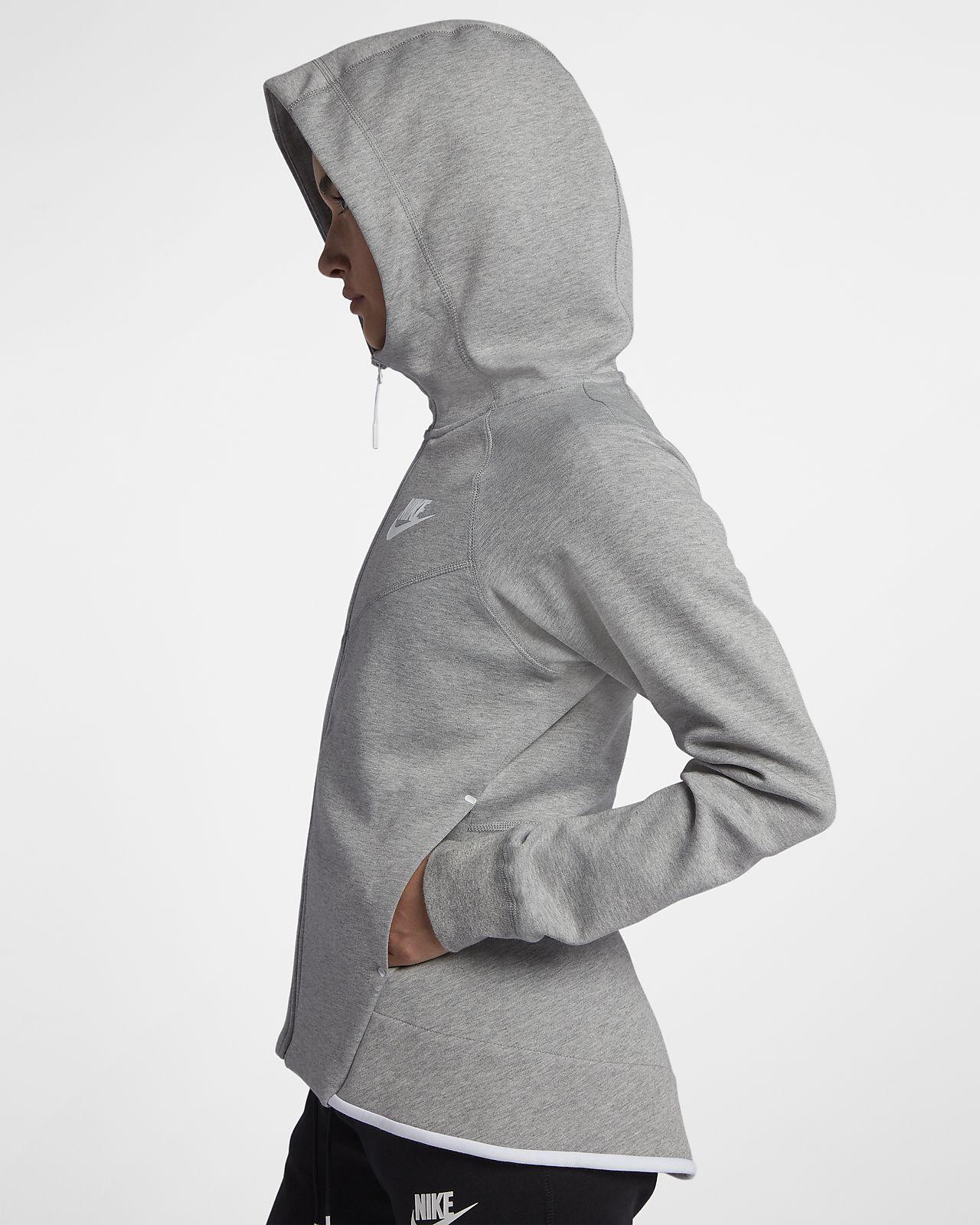 Sportswear Tech Nike Full Zip Fleece Hoodie Windrunner Women's R4j35AL