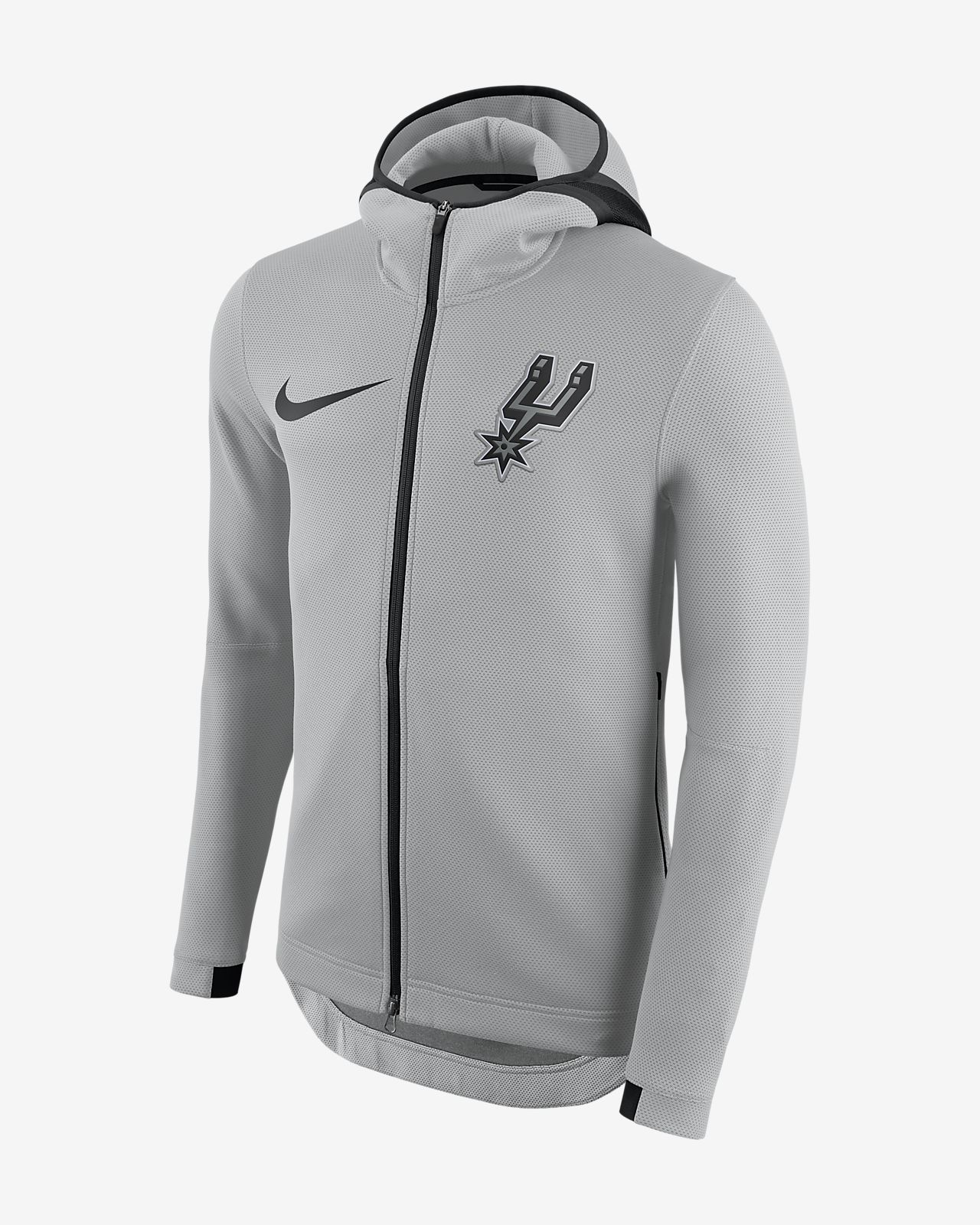 41c7881be496 San Antonio Spurs Nike Therma Flex Showtime Men s NBA Hoodie. Nike.com