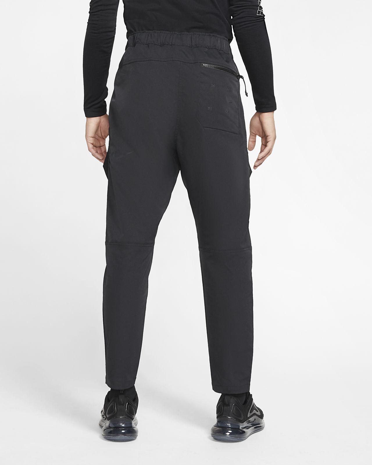 nike sportswear tech pack woven track pant schwarz