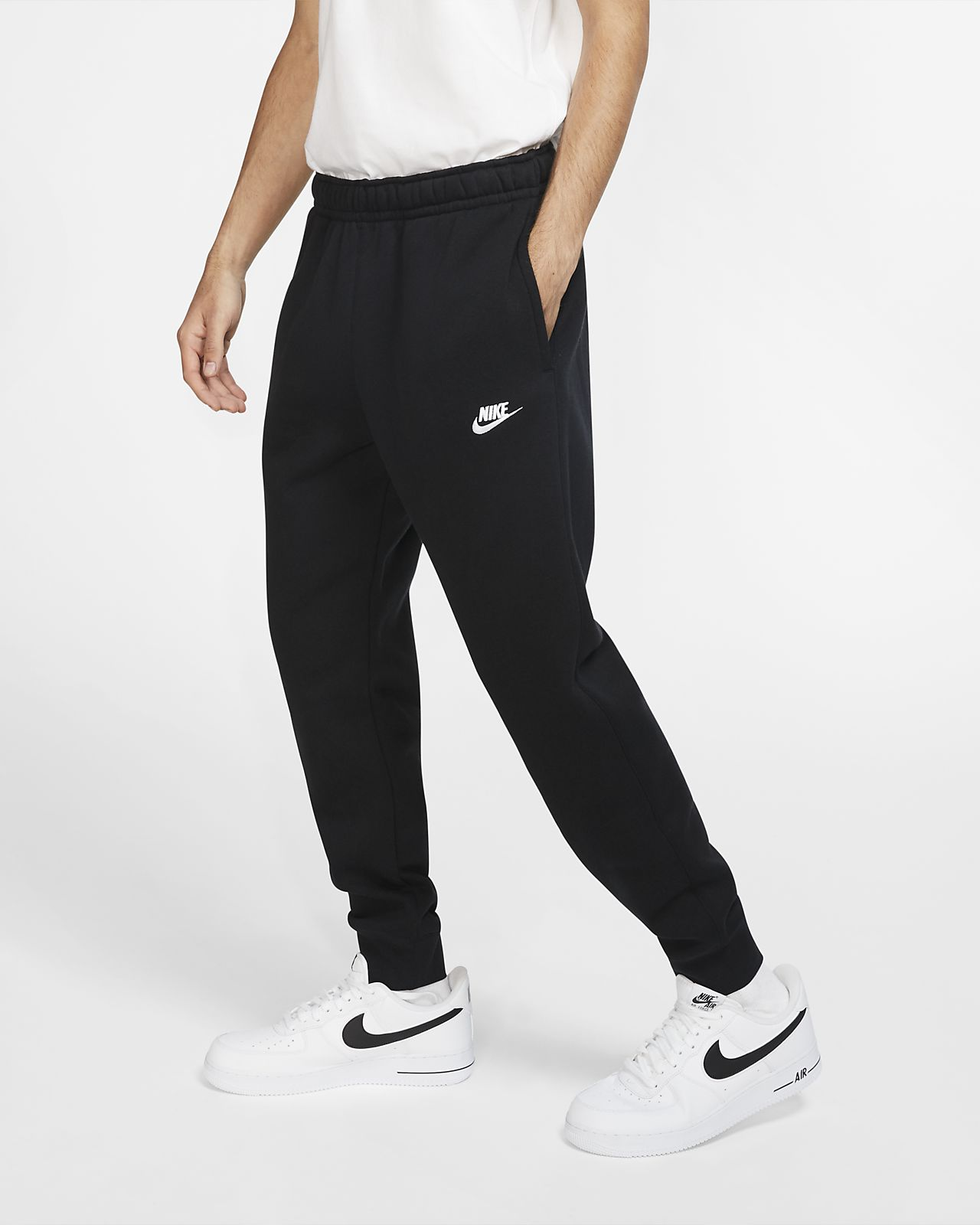 Nike Jogging NAVY BLUE w Silver white STRIPES ACTIVEWEAR r