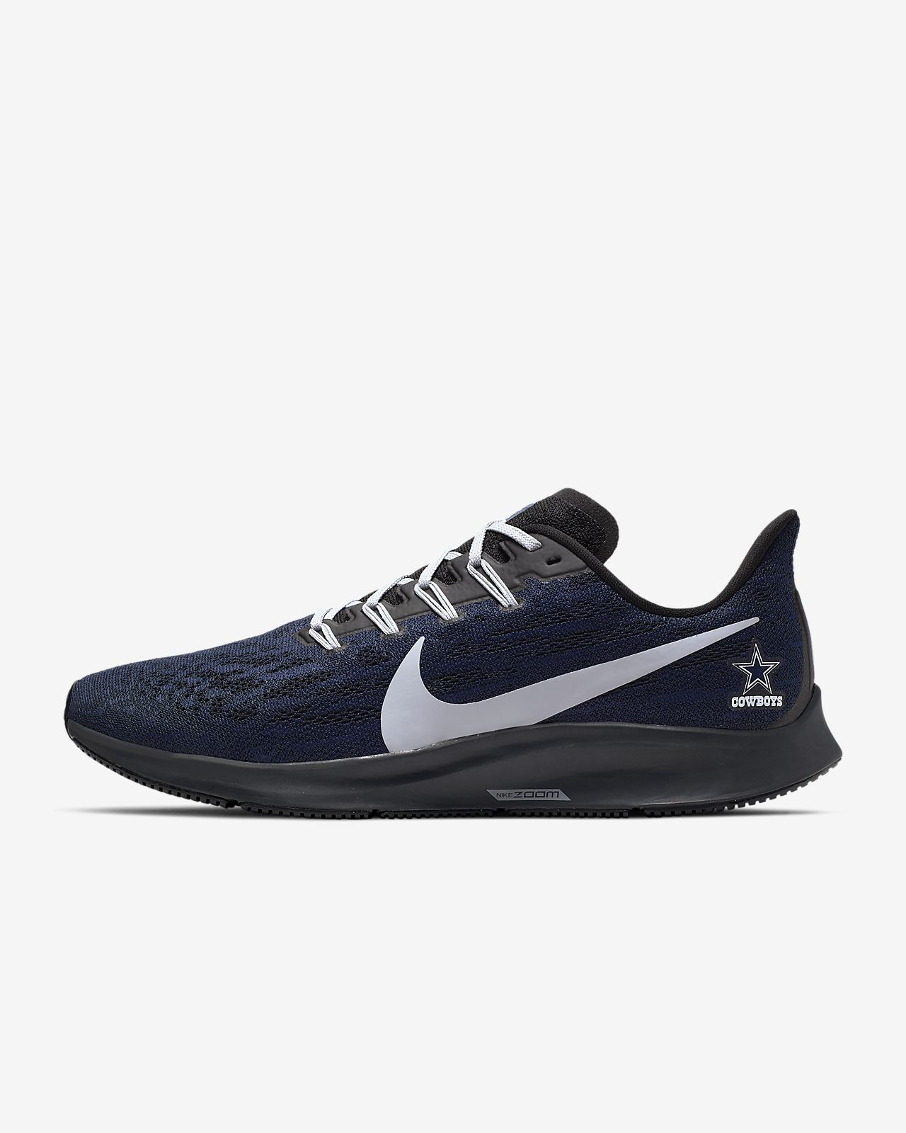 Nike Air Zoom Pegasus 36 (Cowboys) Men's Running Shoe
