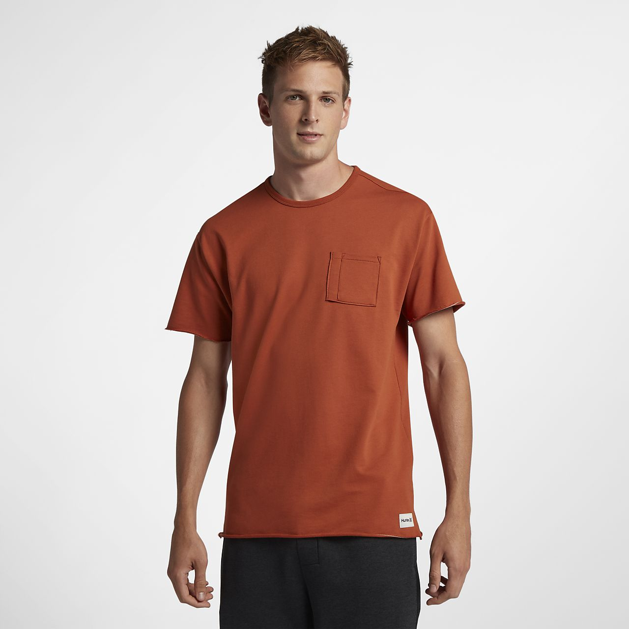 Tee-shirt Hurley L7 Pocket Crew pour Homme