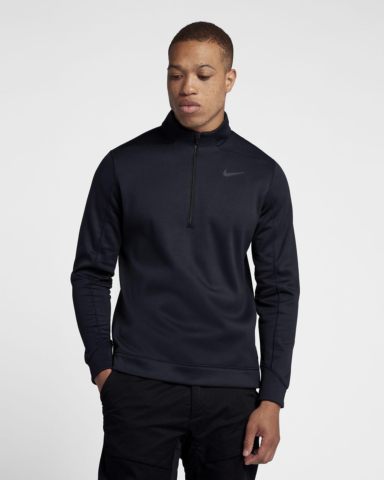 Maglia da golf con zip a metà lunghezza Nike Therma Repel - Uomo