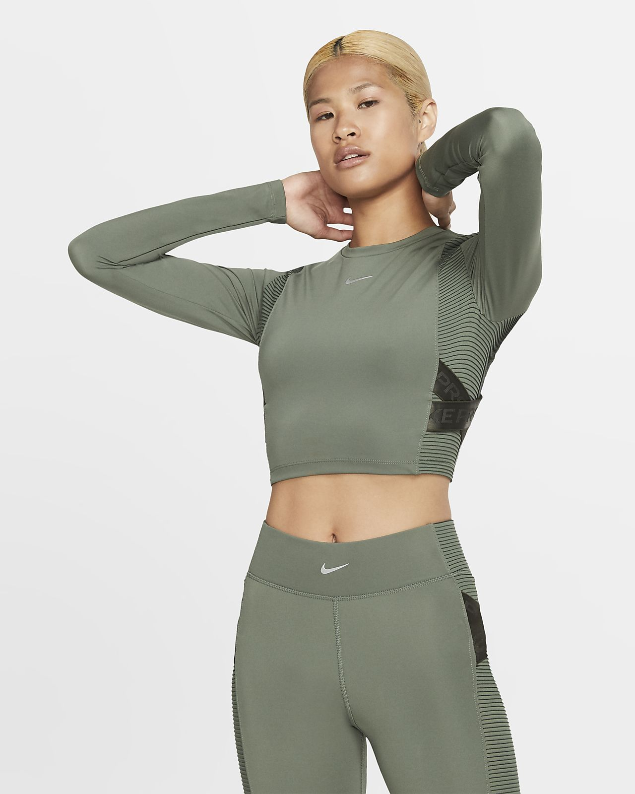 Nike Pro AeroAdapt Women's Long-Sleeve Top