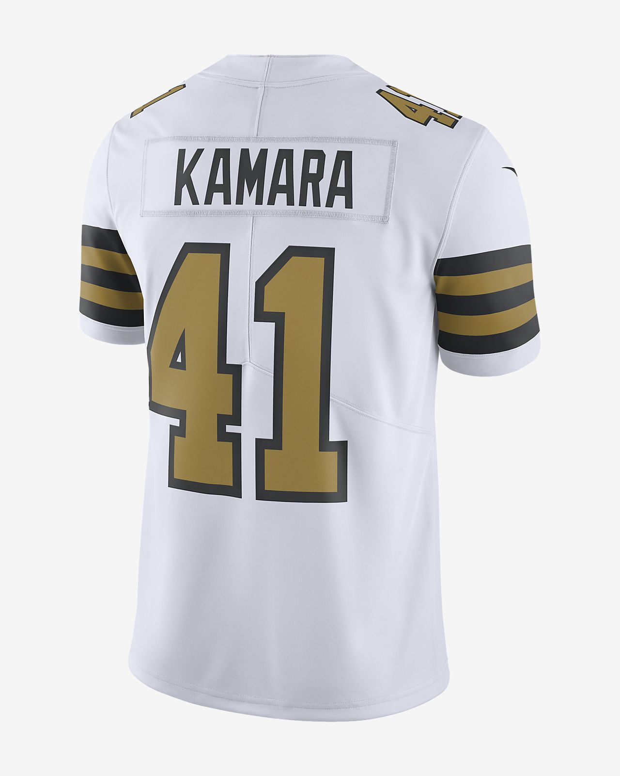 the best attitude 72fa5 d1af9 NFL New Orleans Saints Limited (Alvin Kamara) Men's Football Jersey