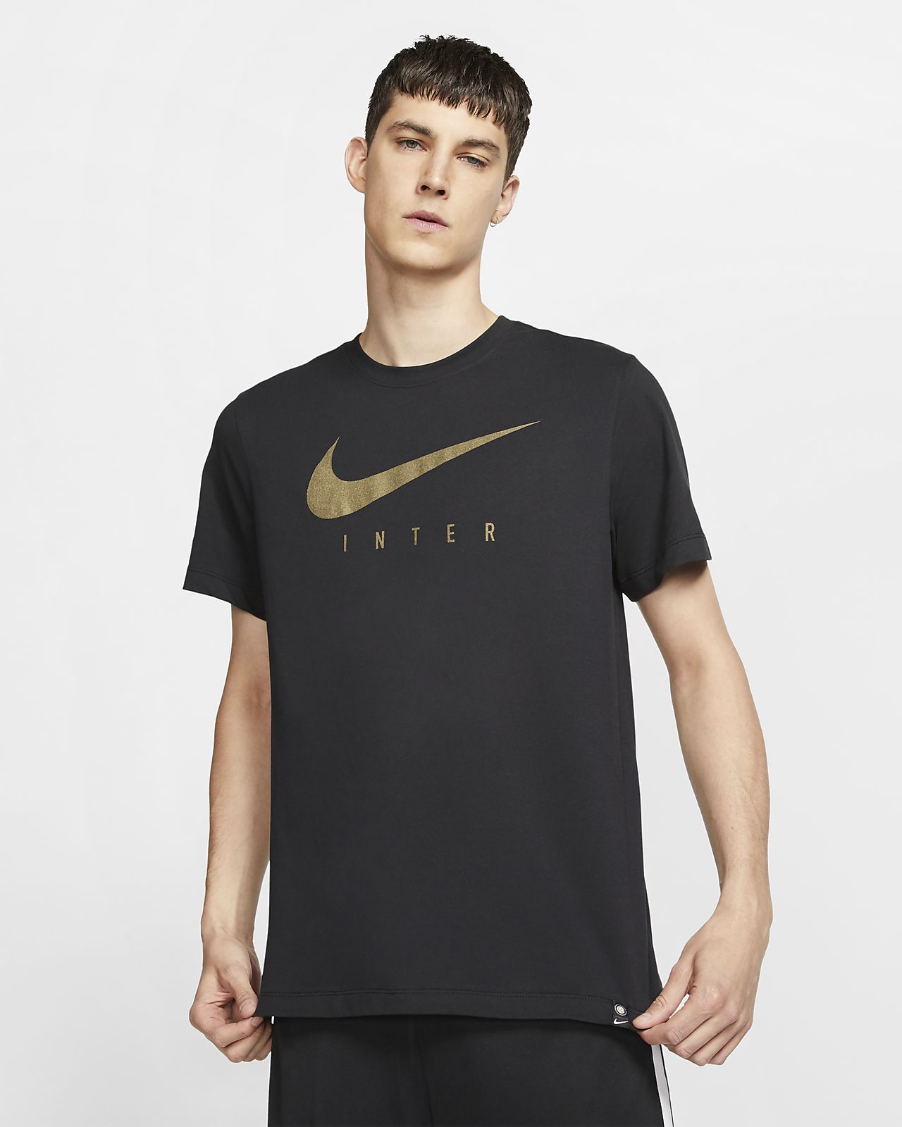 Tee-shirt de football Nike Dri-FIT Inter Milan pour Homme