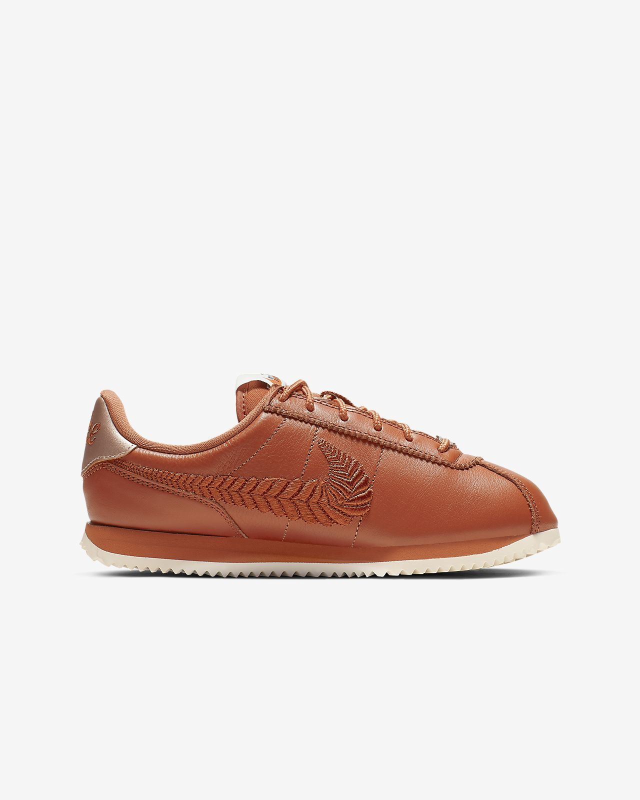 outlet store 5e43a 61fbd ... Nike Cortez Basic Premium Embroidered Older Kids Shoe