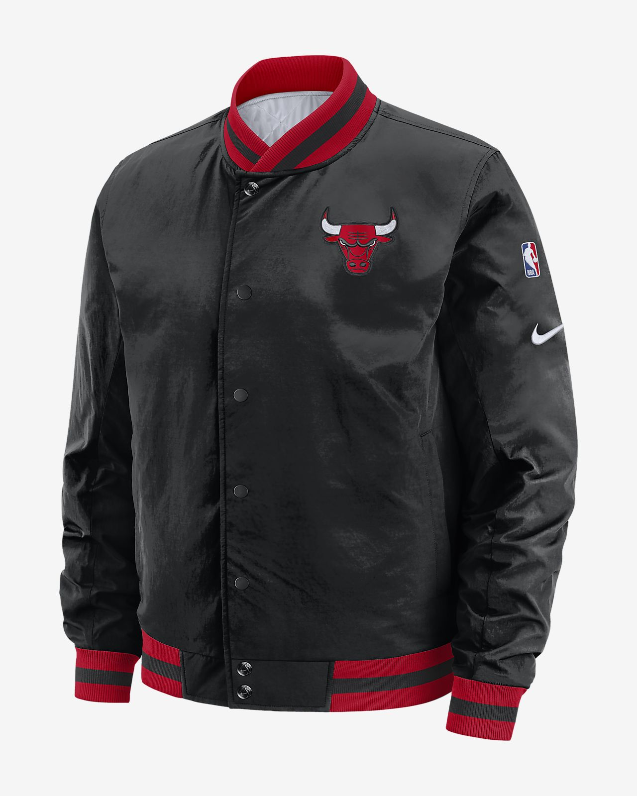 Chicago Bulls Courtside wendbare Nike NBA-Herrenjacke