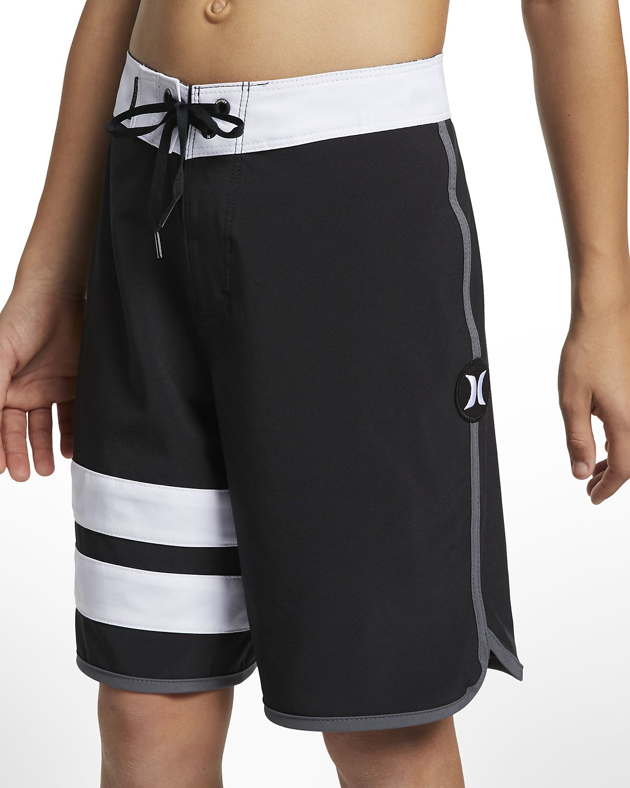 Hurley Phantom Block Party Solid Boardshorts voor jongens (41 cm)
