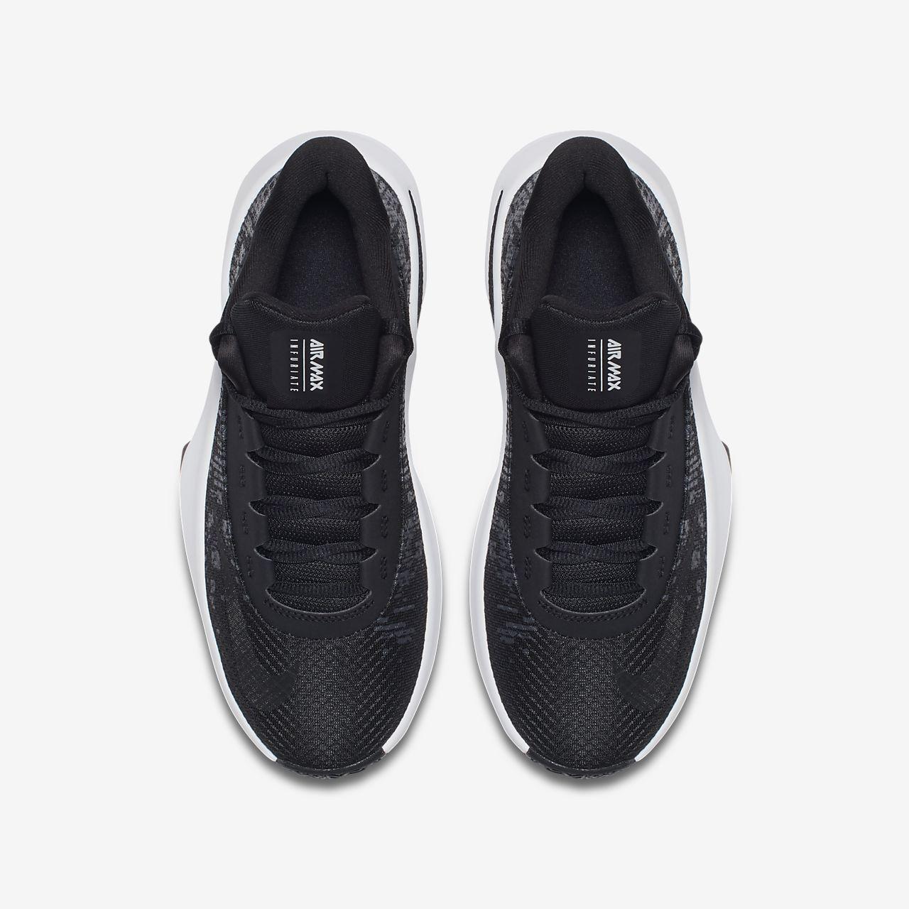 87d66b4ac8 ... Nike Air Max Infuriate II Mid Younger/Older Kids' Basketball Shoe