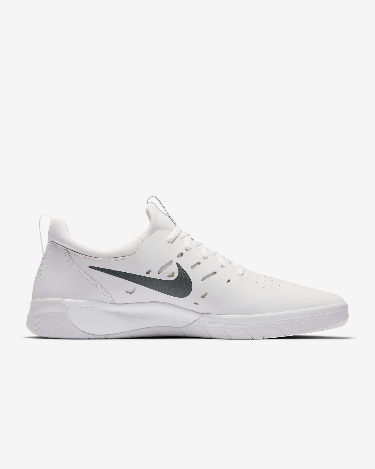 Nike SB Nyjah Free Skateboarding Trainers In Black AA4272 001