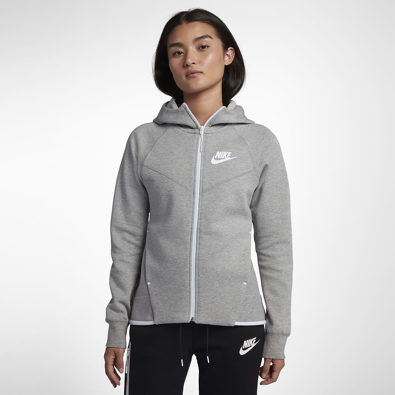 ded6c2fcd74 Nike Sportswear Tech Fleece Windrunner Women's Full-Zip Hoodie. Nike ...