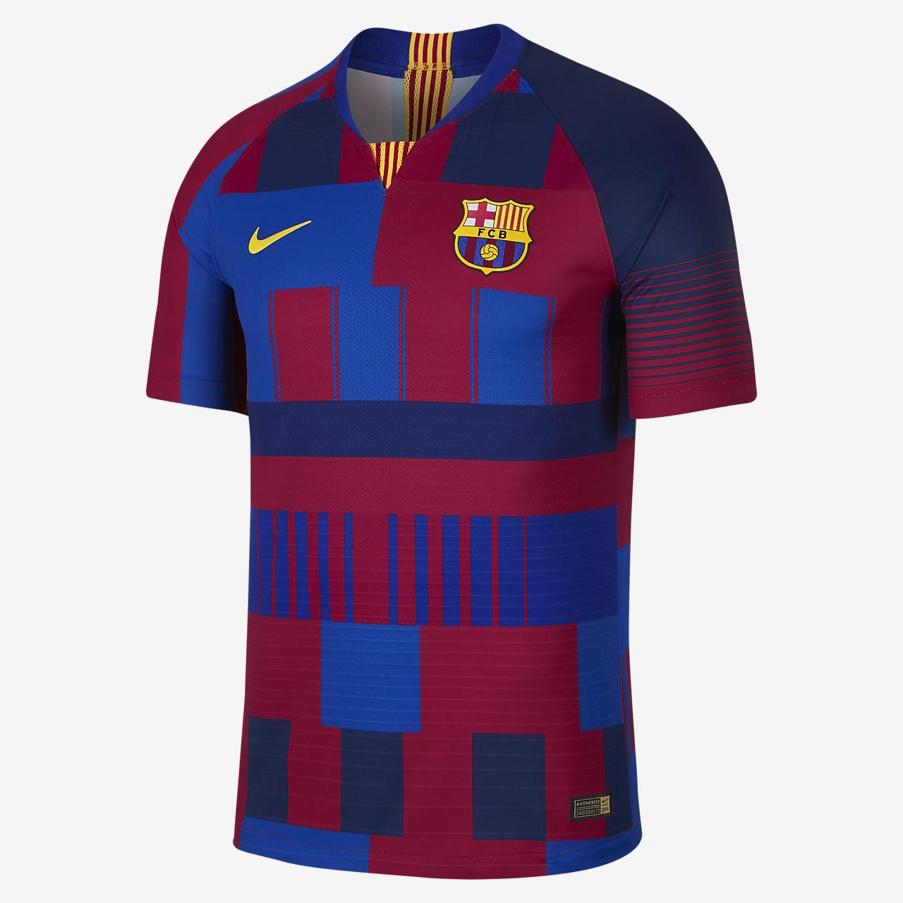 Hombre Barcelona 20th Camiseta Match Nike Vapor Anniversary Para Fc zfw7q6