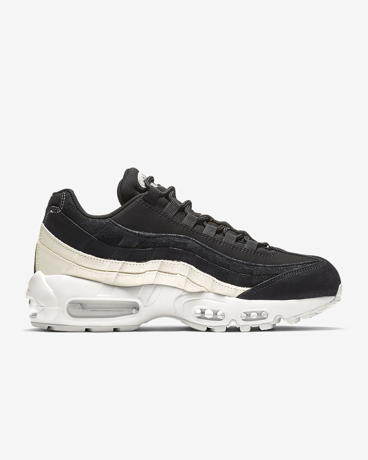 huge discount e8f34 a65c2 ... Nike Air Max 95 Premium Women s Shoe