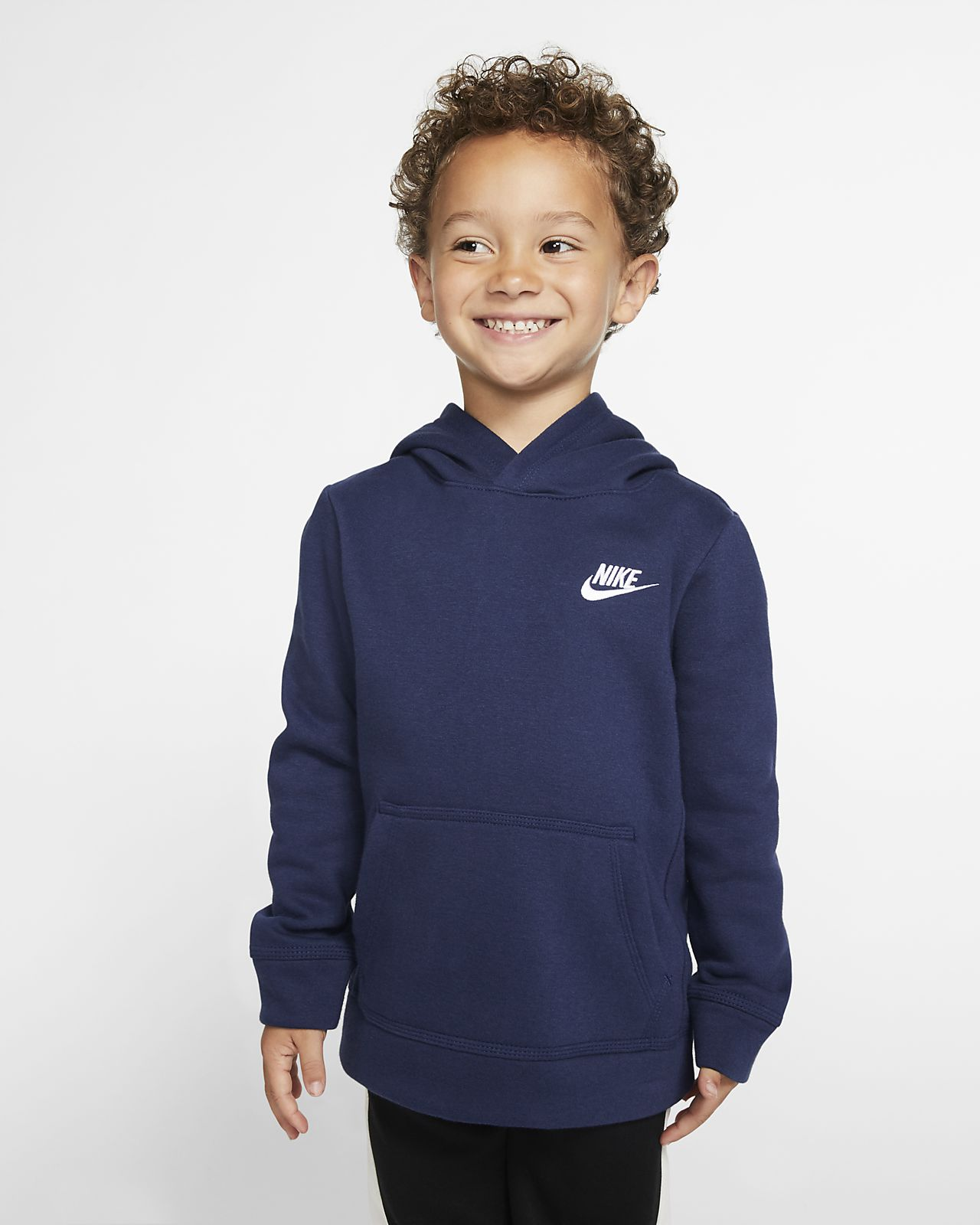 Bluza z kapturem dla małych dzieci Nike Sportswear Tech Fleece