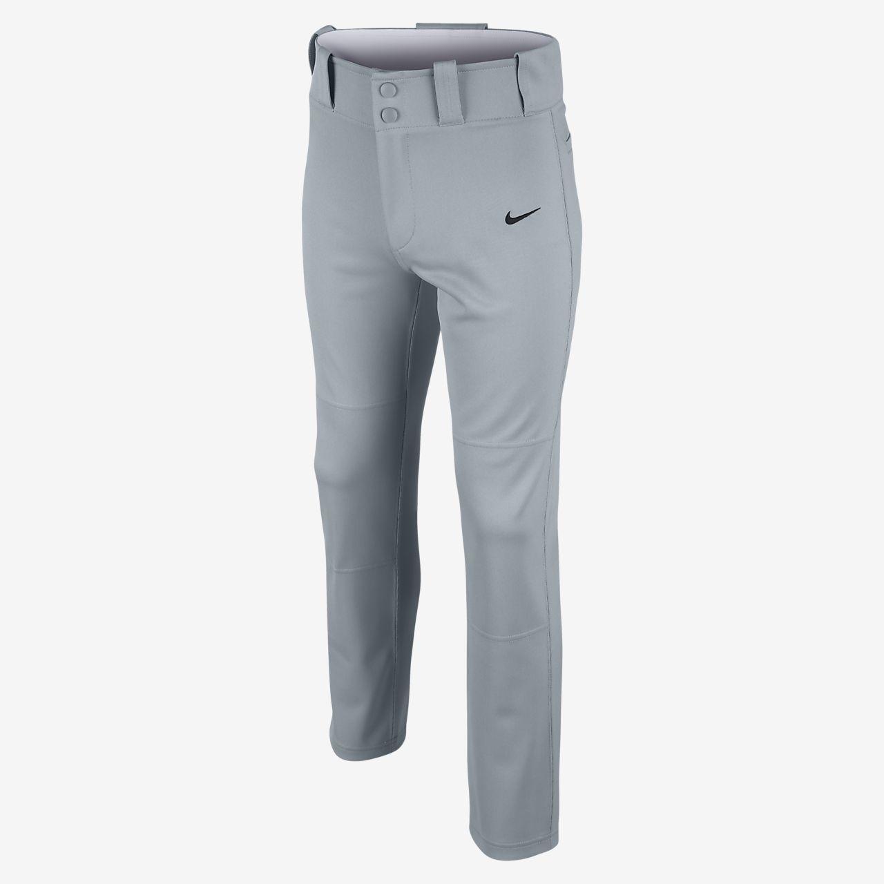 ... Nike Core Dri-FIT Open Hem Boys' Baseball Pants