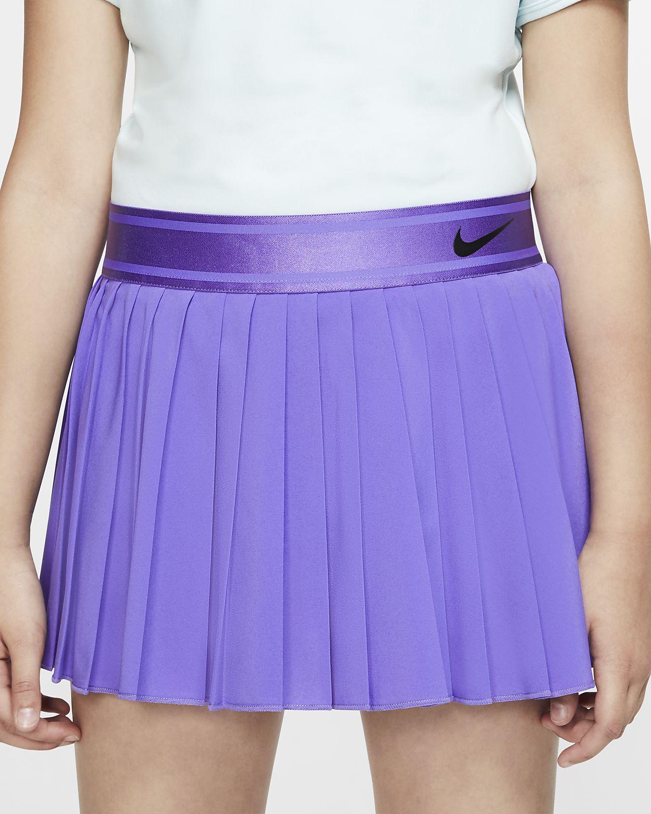 NikeCourt Victory Falda de tenis - Niña