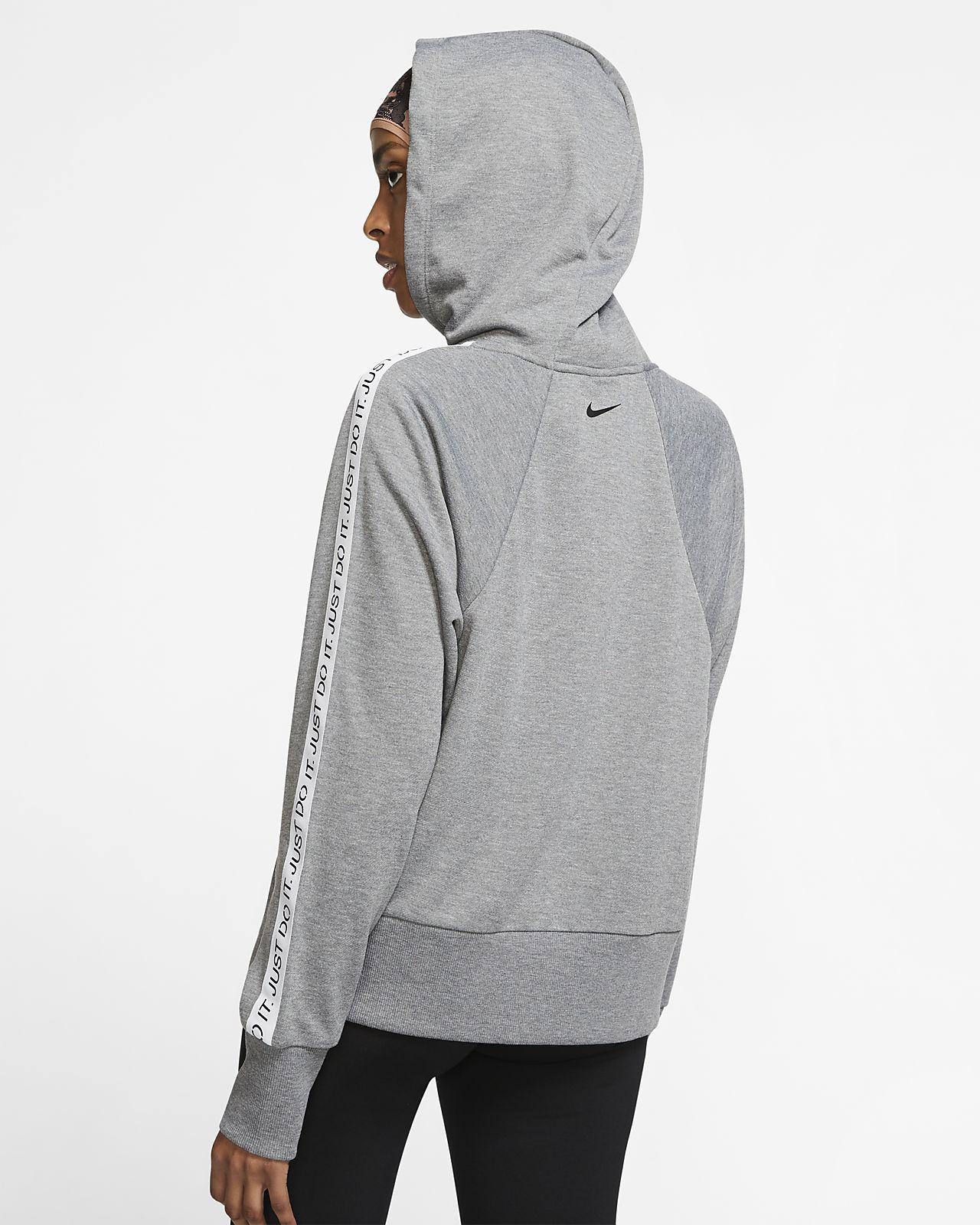 get new special section delicate colors Sweat à capuche de training à zip Nike Dri-FIT Get Fit pour Femme