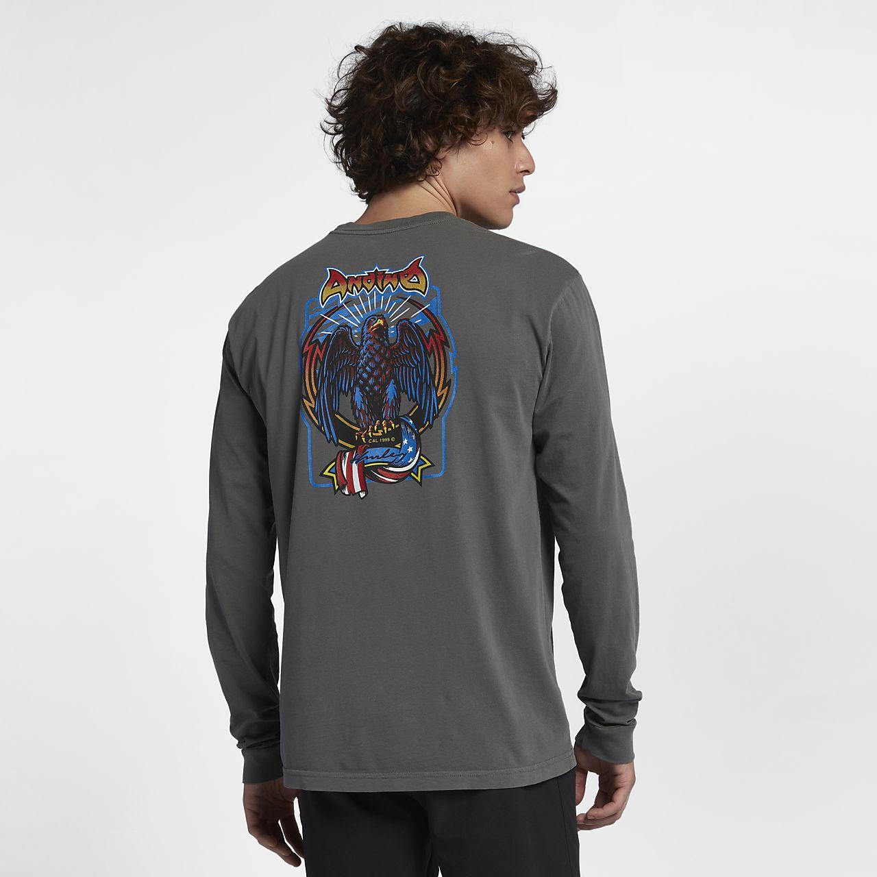 Pánské tričko s dlouhým rukávem Hurley Team Andino