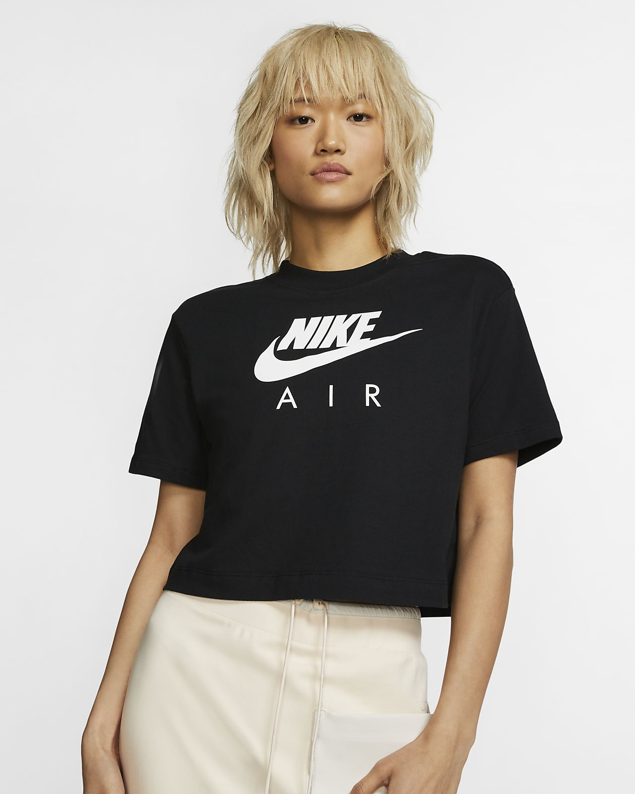 Top a manica corta Nike Air - Donna