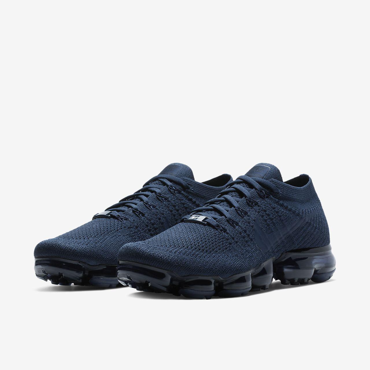 6142a18a058 Nike VaporMax Midnight Navy Men s Running Shoes