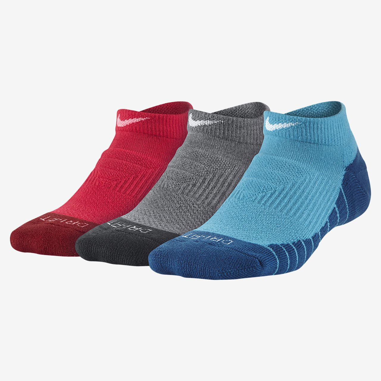 huge selection of 70150 a33fb Nike Dri-FIT Cushion No-Show