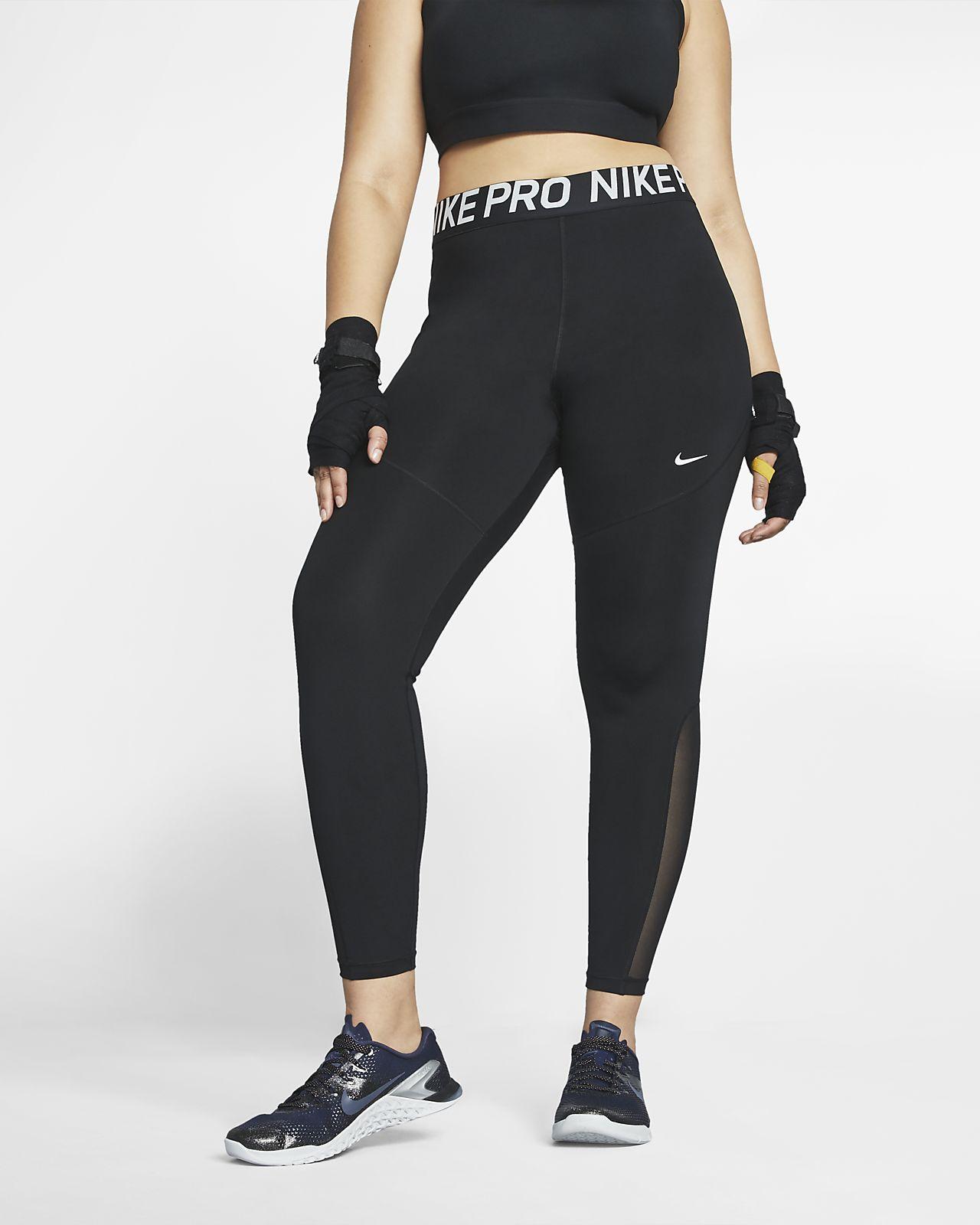 Tights Nike Pro för kvinnor (större storlek)