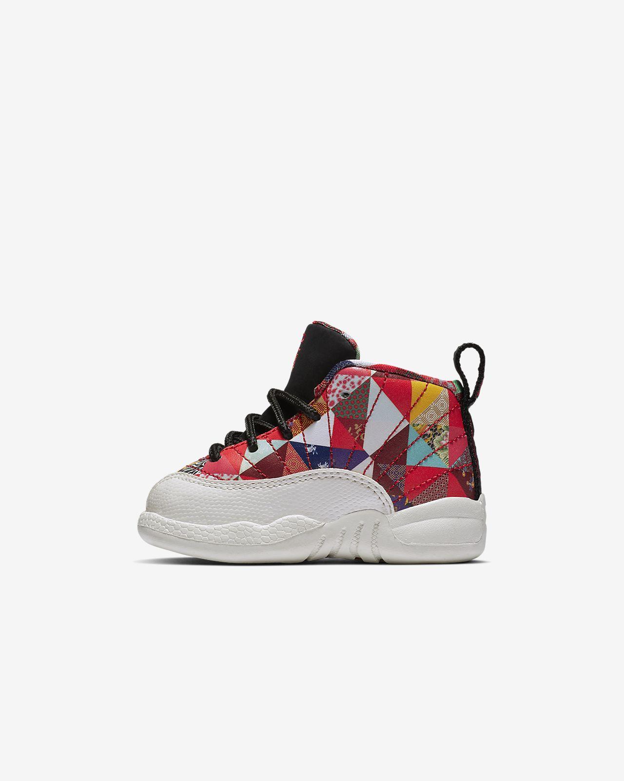 Jordan 12 Retro CNY (TD) 复刻婴童运动童鞋