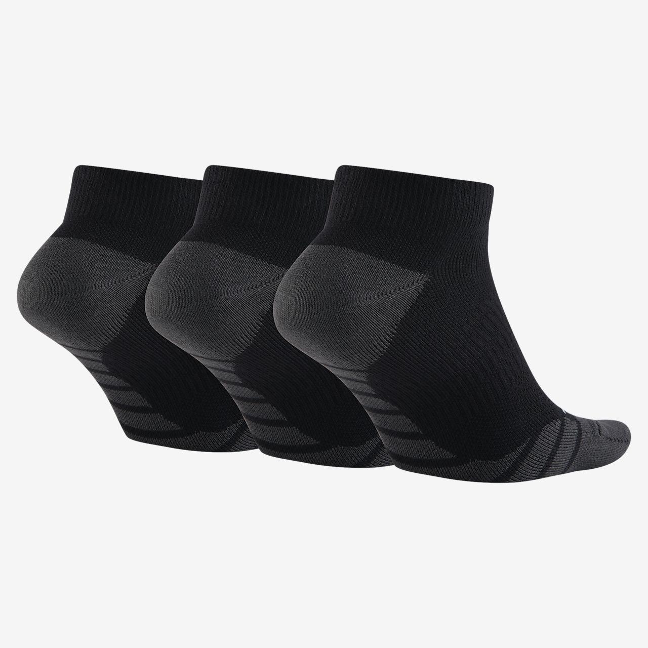 b36833084eba Nike Dry Lightweight No-Show Training Socks (3 Pair). Nike.com GB