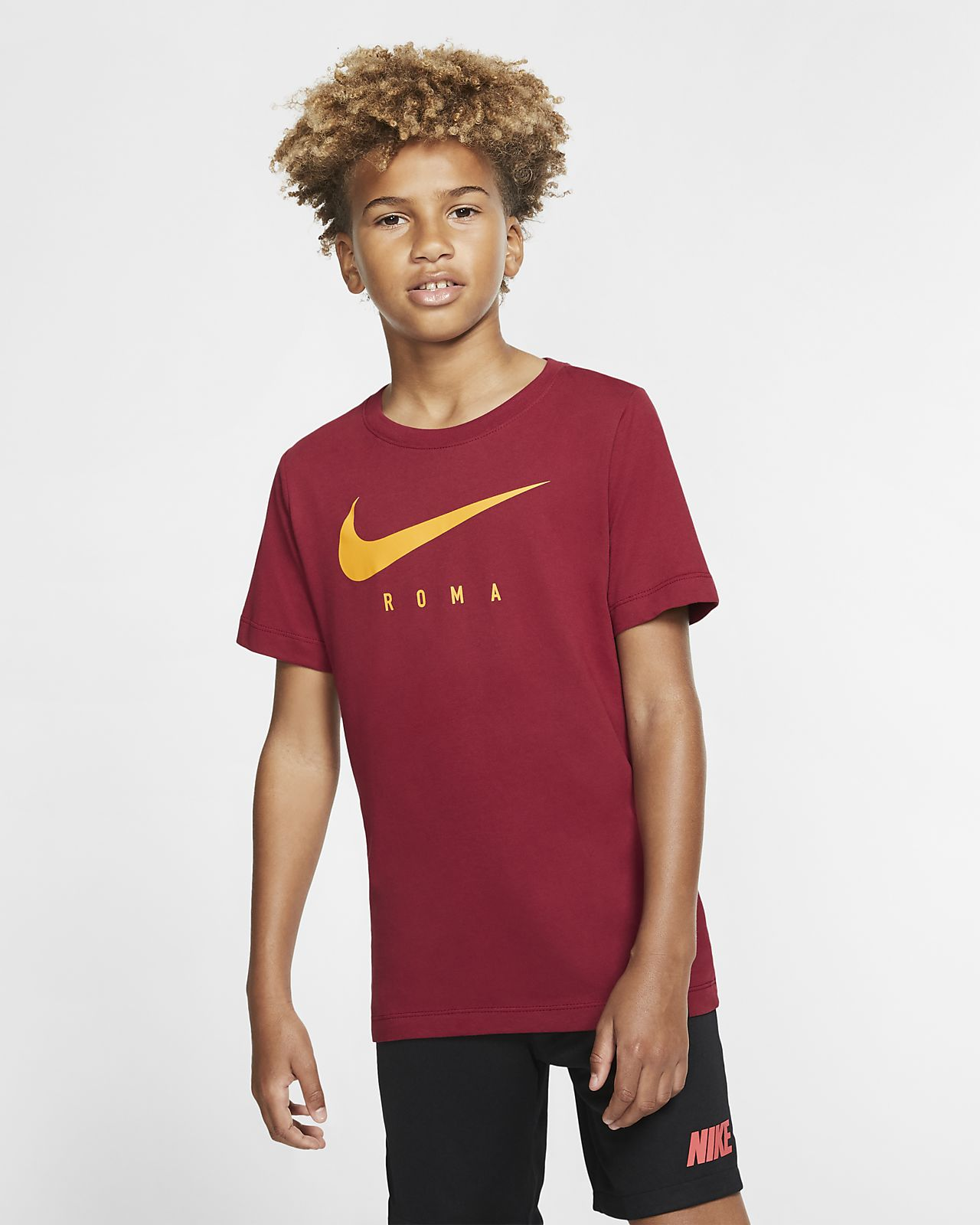 Nike Dri-FIT A.S. Roma futballpóló nagyobb gyerekeknek