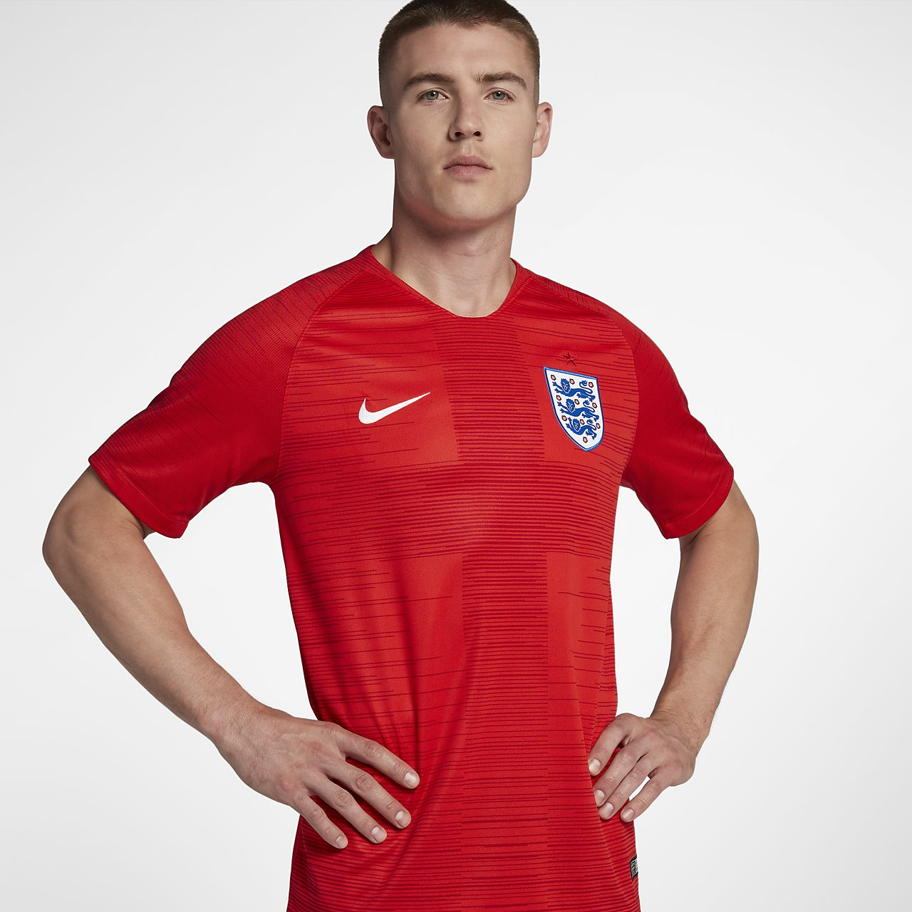 Camiseta de fútbol para hombre 2018 England Stadium Away