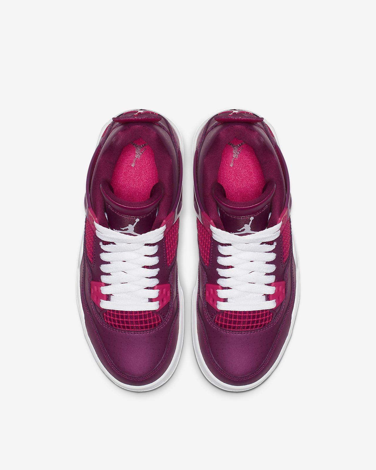 835014fd109fbe Air Jordan 4 Retro Big Kids  Shoe. Nike.com