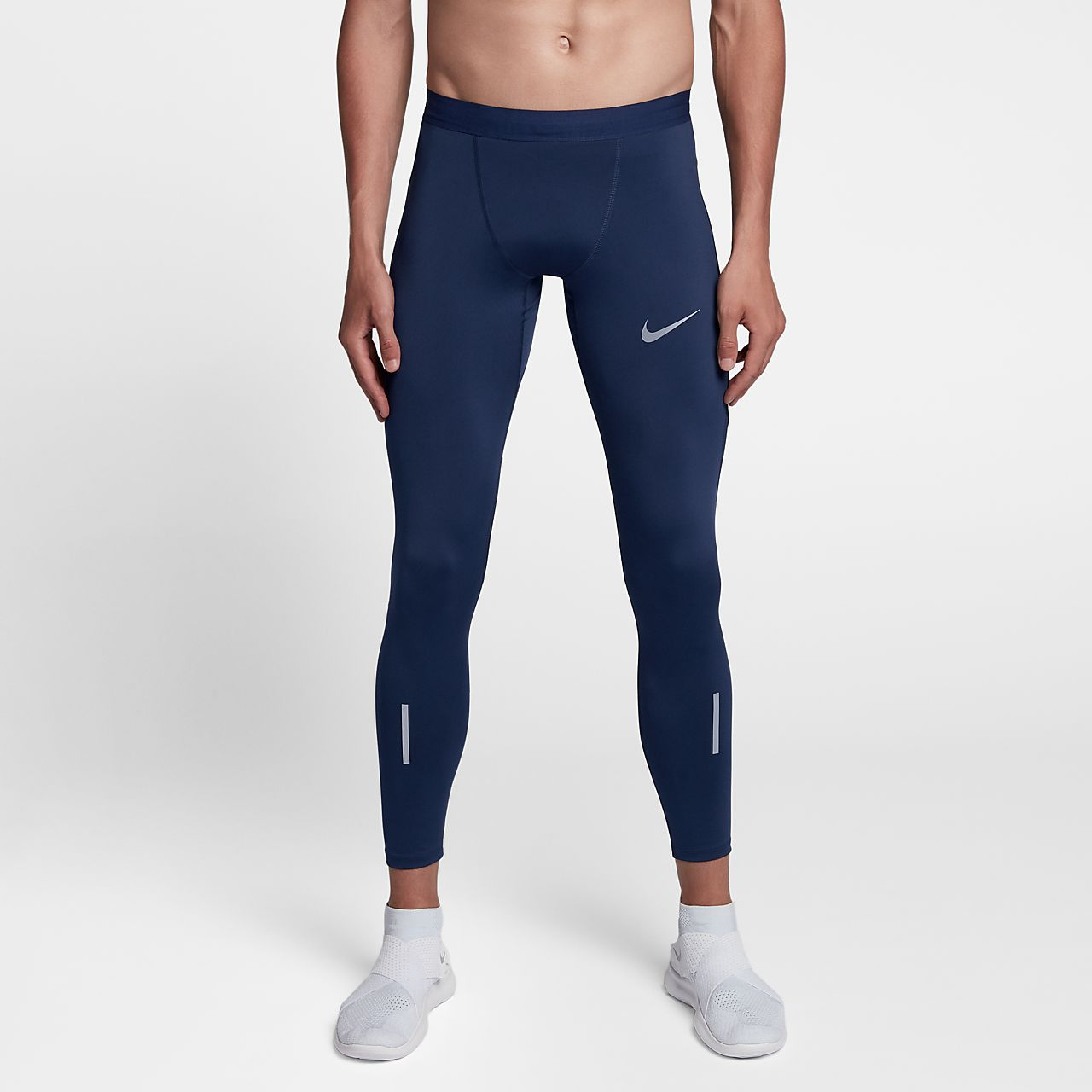 men's lightweight running tights Super lightweight tights that wick sweat away are ideal for racking up mileage, free of distraction. A variety of adidas men's tights come in SPRINTWEB compression design with strategic prints that support muscles during endurance runs.