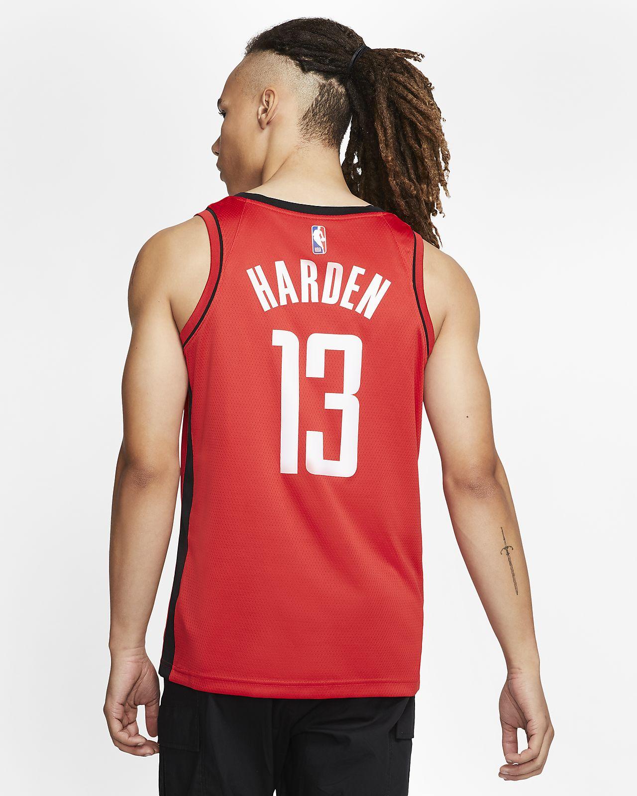 huge discount dba5d 5ced6 James Harden Icon Edition Swingman (Houston Rockets) Men's Nike NBA  Connected Jersey