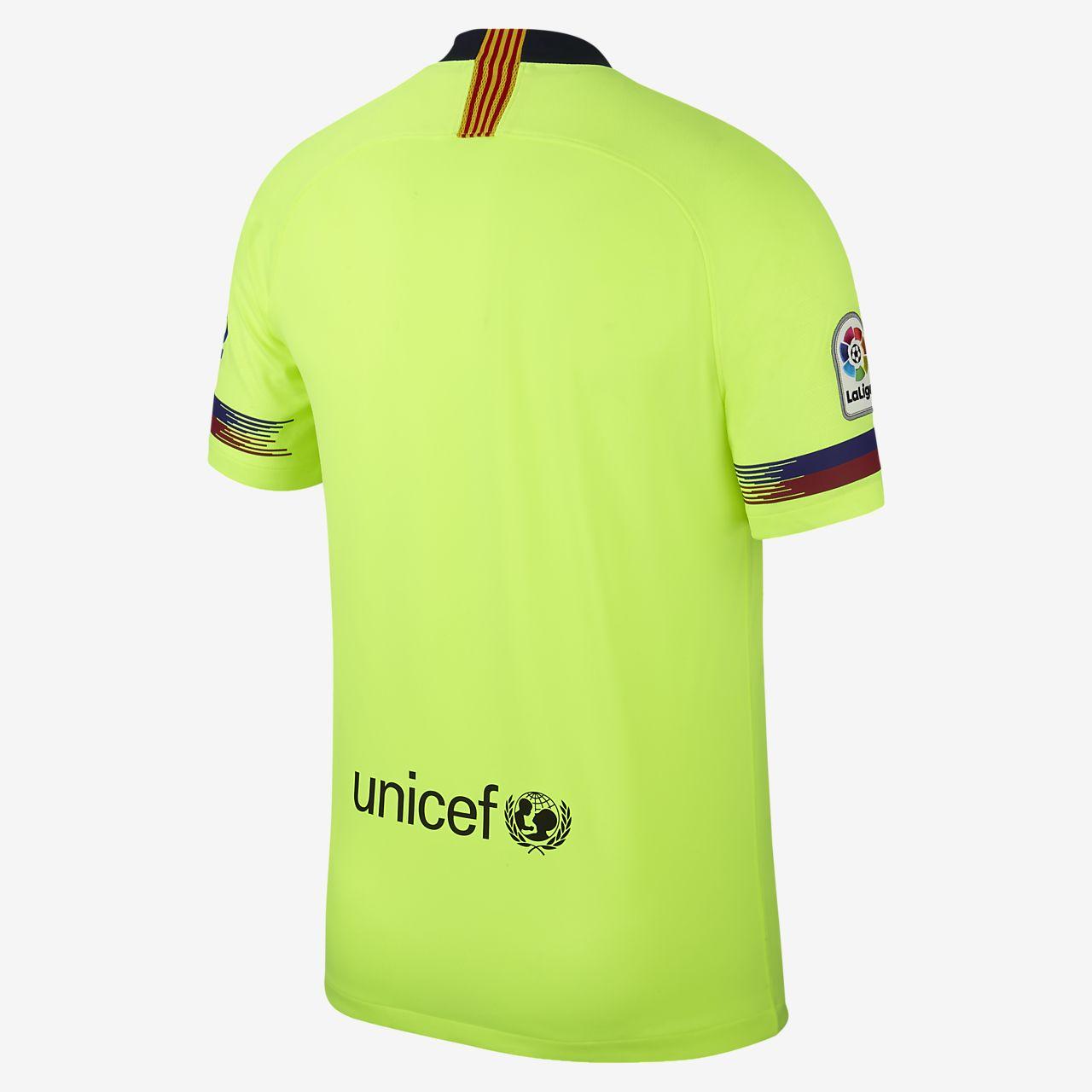 buy popular b47d6 001dc ... 2018 19 FC Barcelona Stadium Away fotballdrakt til herre