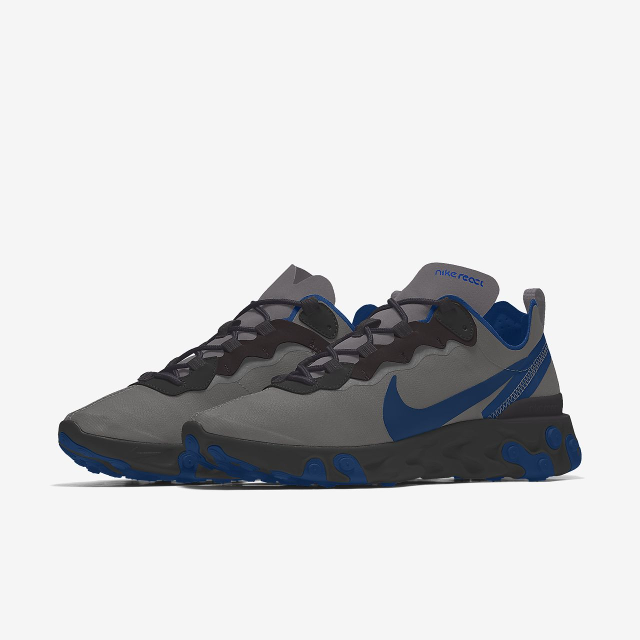 Nike React Element 55 By You personalisierbarer Herren Freizeitschuh
