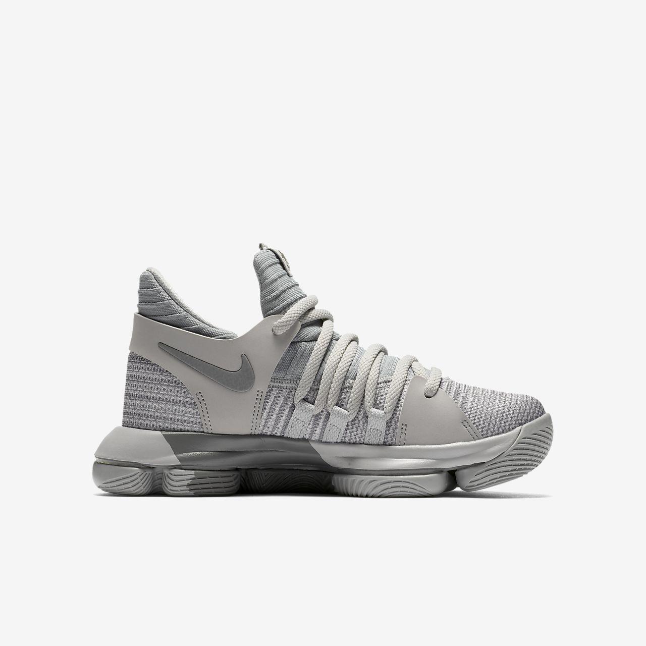 Nike Free 5.0 (3.5y-7y) Kids' Running Shoe - Dark Grey/Wolf Grey/Cool Grey/Black : U47s7701