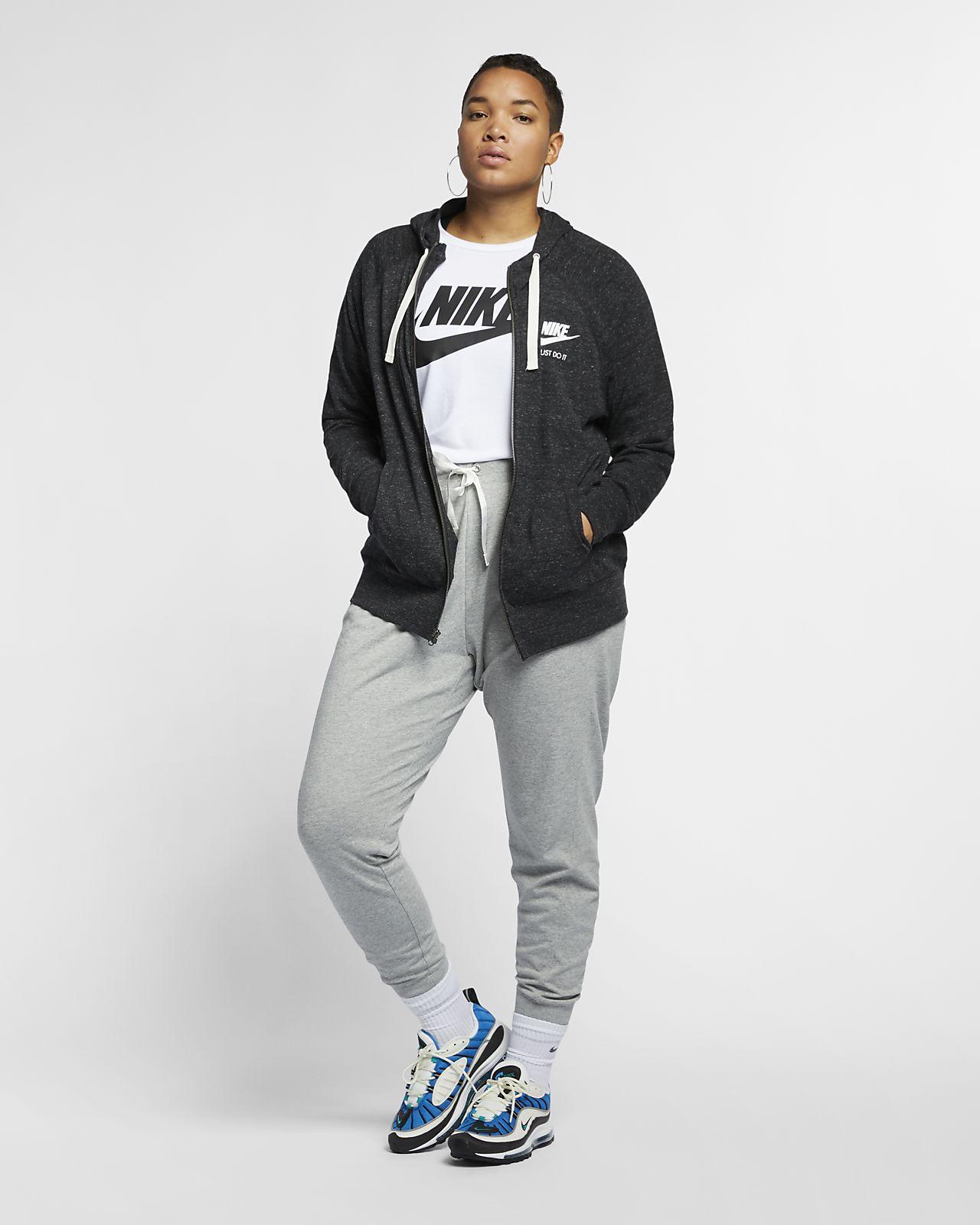 Sweatshirts & Hoodies Nike Womens Gym Vintage Plus Size Full