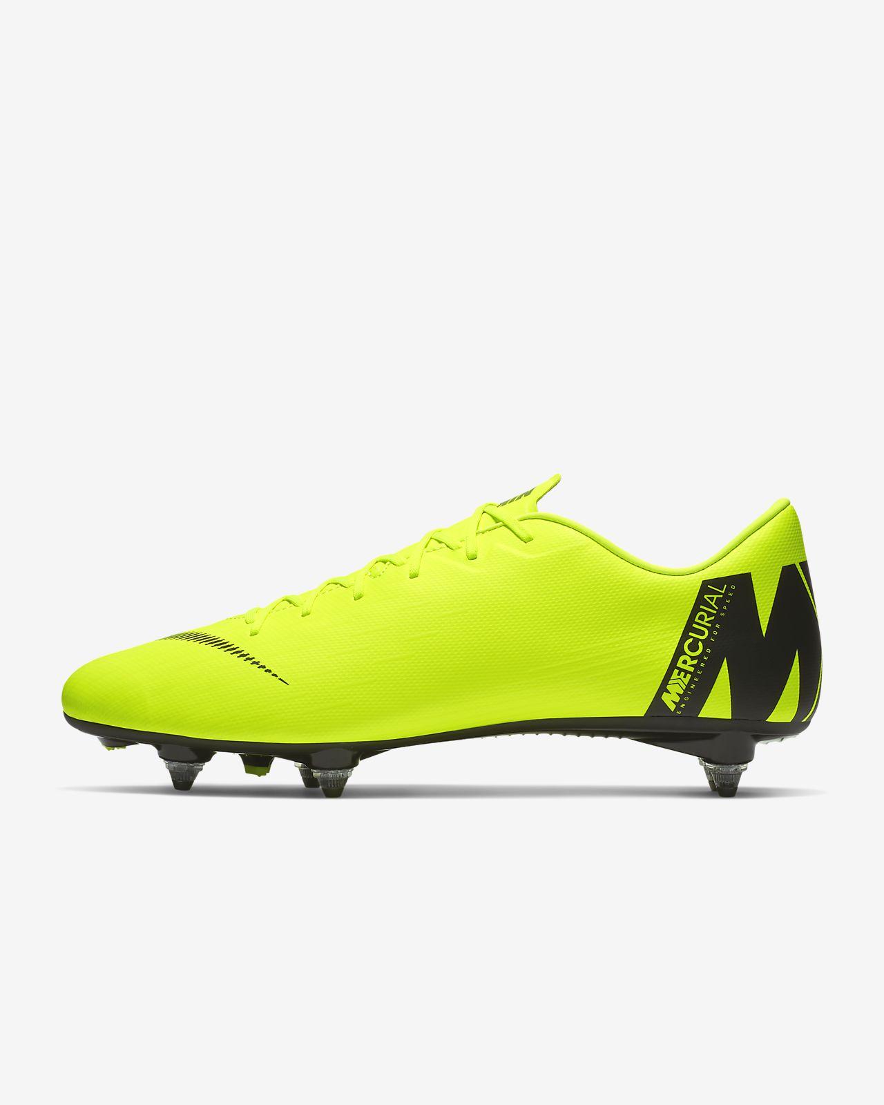 6ece10998c ... Chaussure de football à crampons pour terrain gras Nike Mercurial Vapor  XII Academy SG-PRO