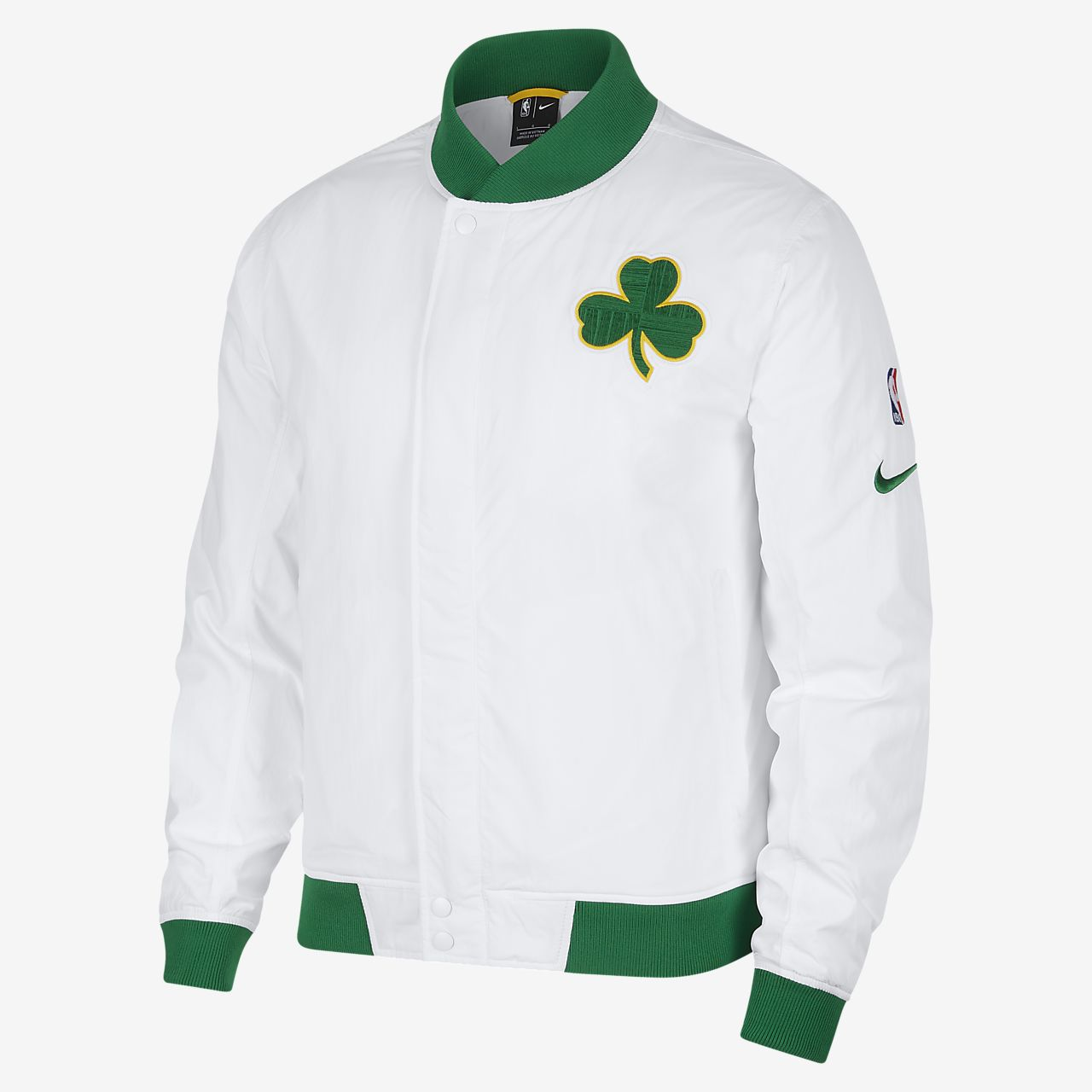 c0b3ffef7 Boston Celtics Nike Courtside Men's NBA Jacket. Nike.com SI