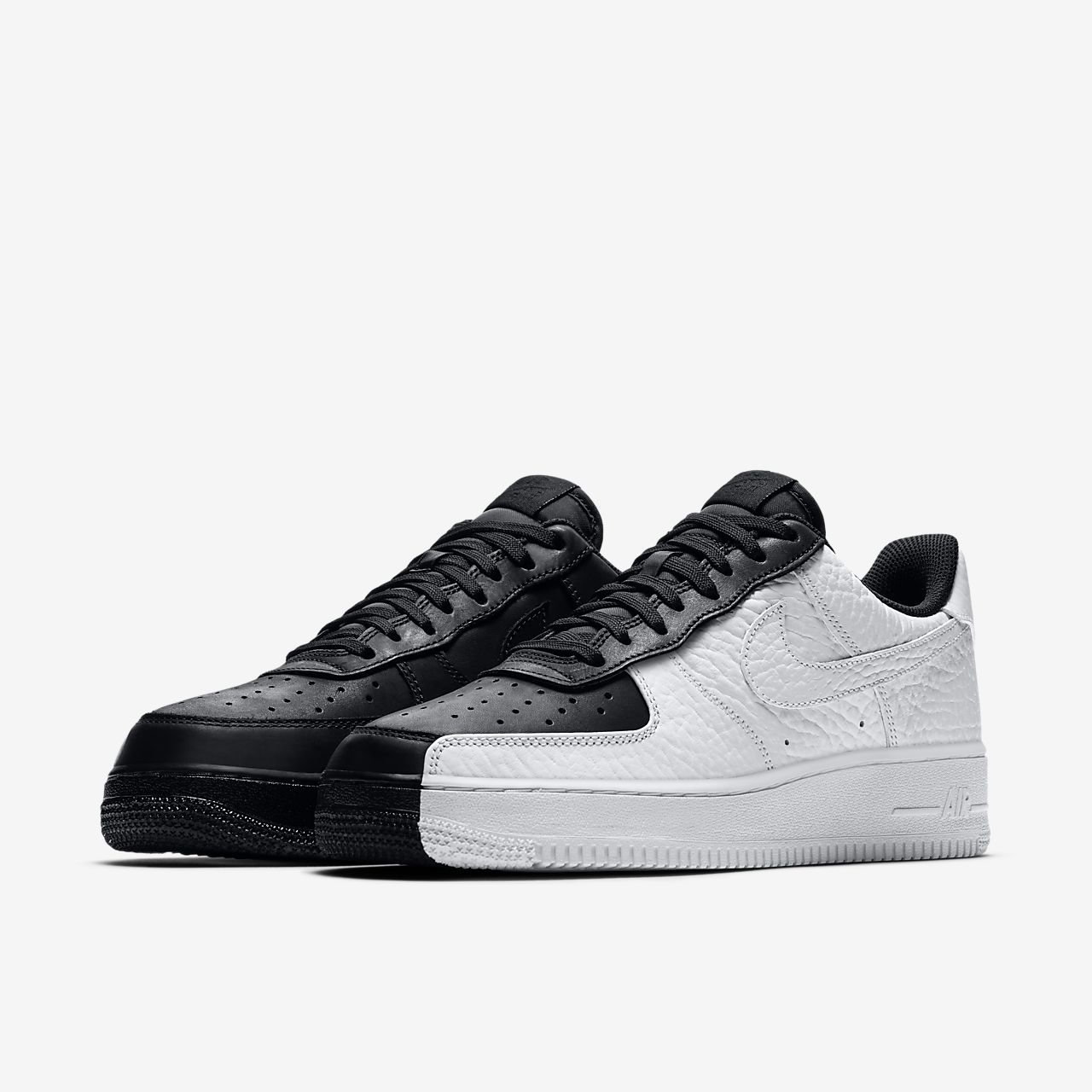 nike air force 1 07 premium black/white-black