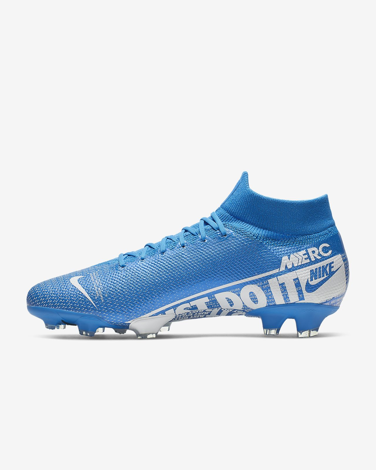 photos officielles ef8c0 79e7b Chaussure de football à crampons pour terrain sec Nike Mercurial Superfly 7  Pro FG
