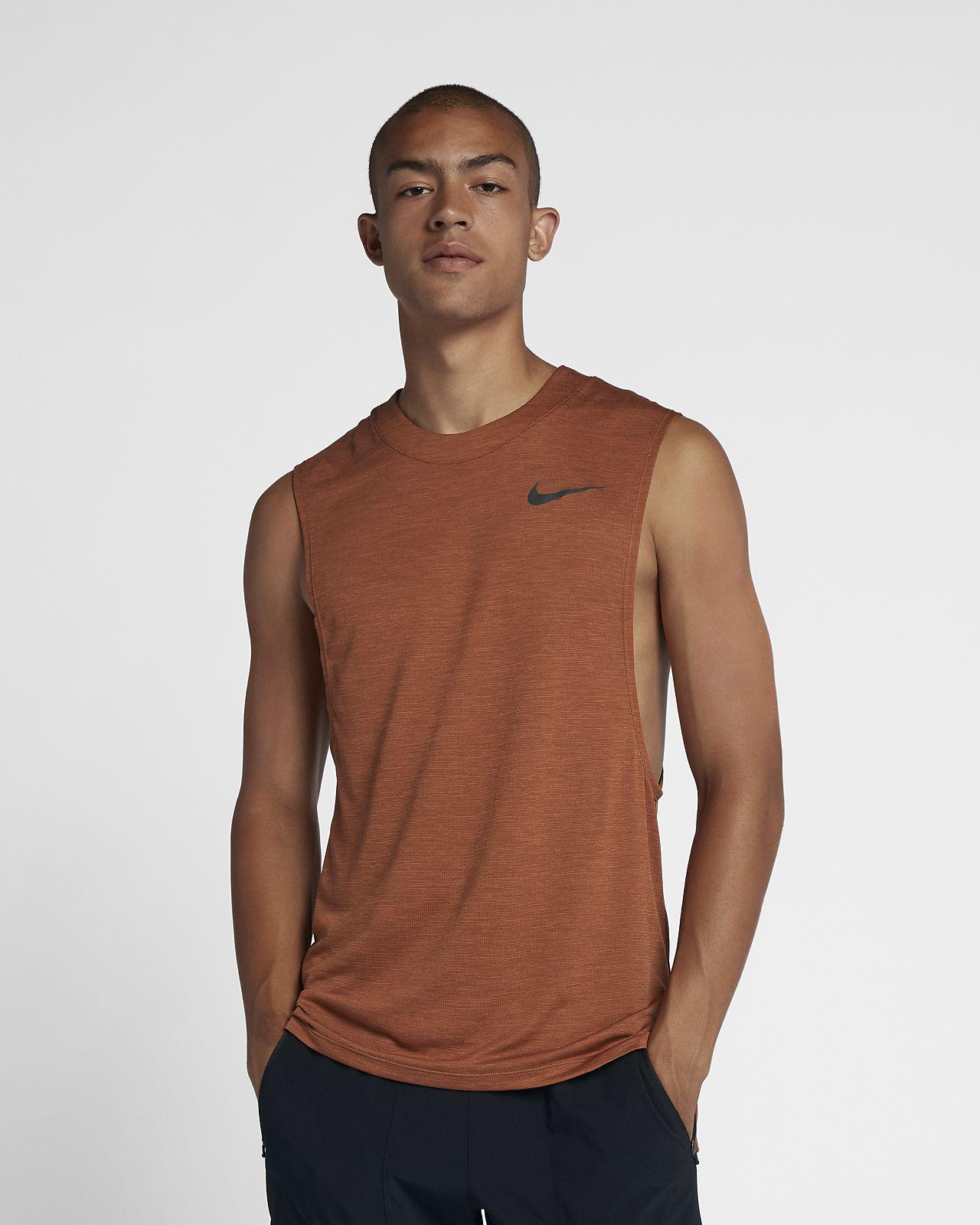 Ανδρική αμάνικη μπλούζα για τρέξιμο Nike Medalist Run Division