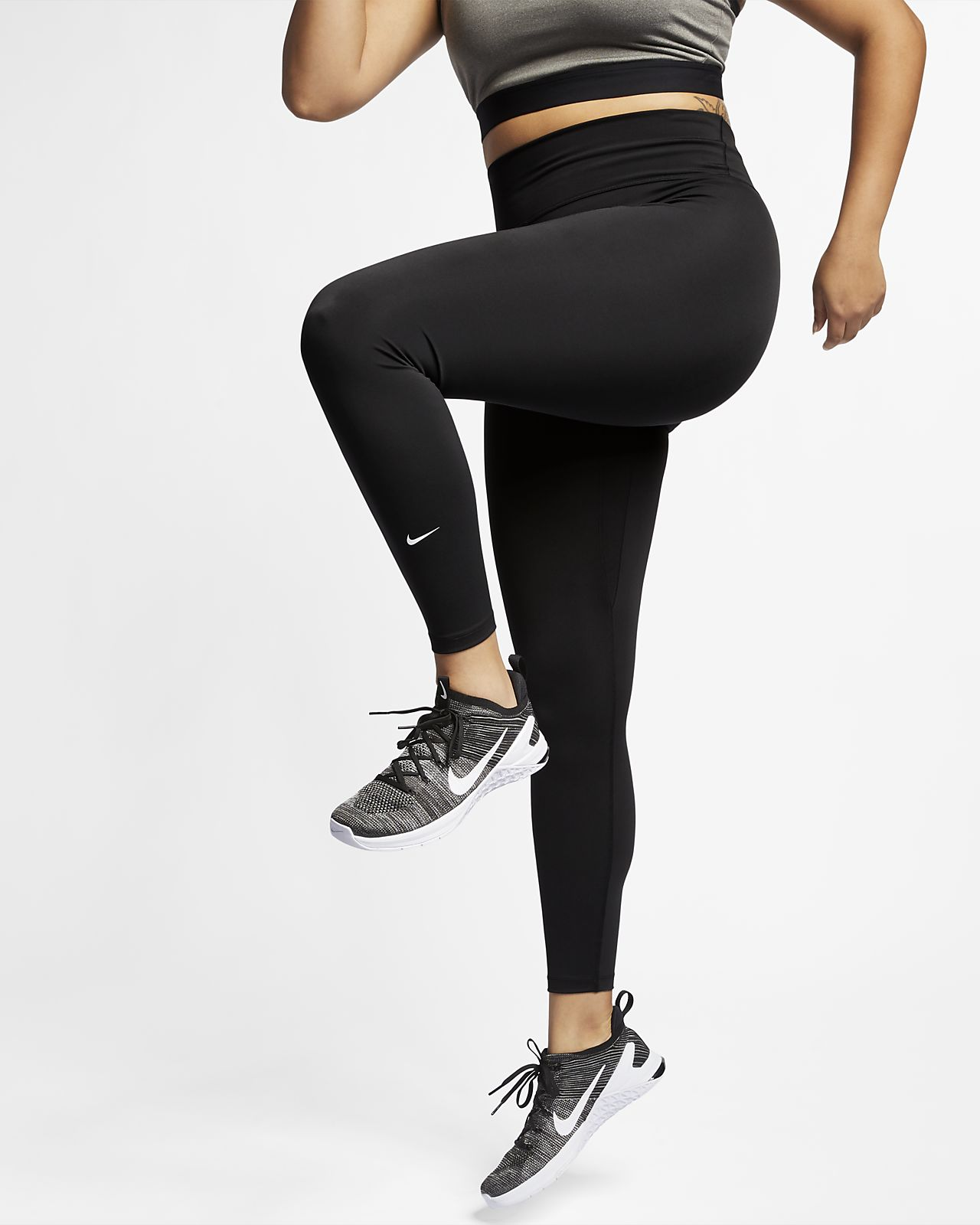 Mallas para mujer Nike One (talla grande). Nike.com CL b7cf0e2b1f87