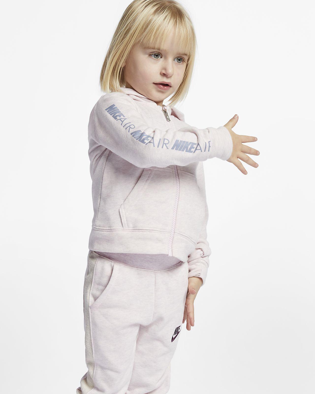 Nike Air 婴童全长拉链开襟连帽衫