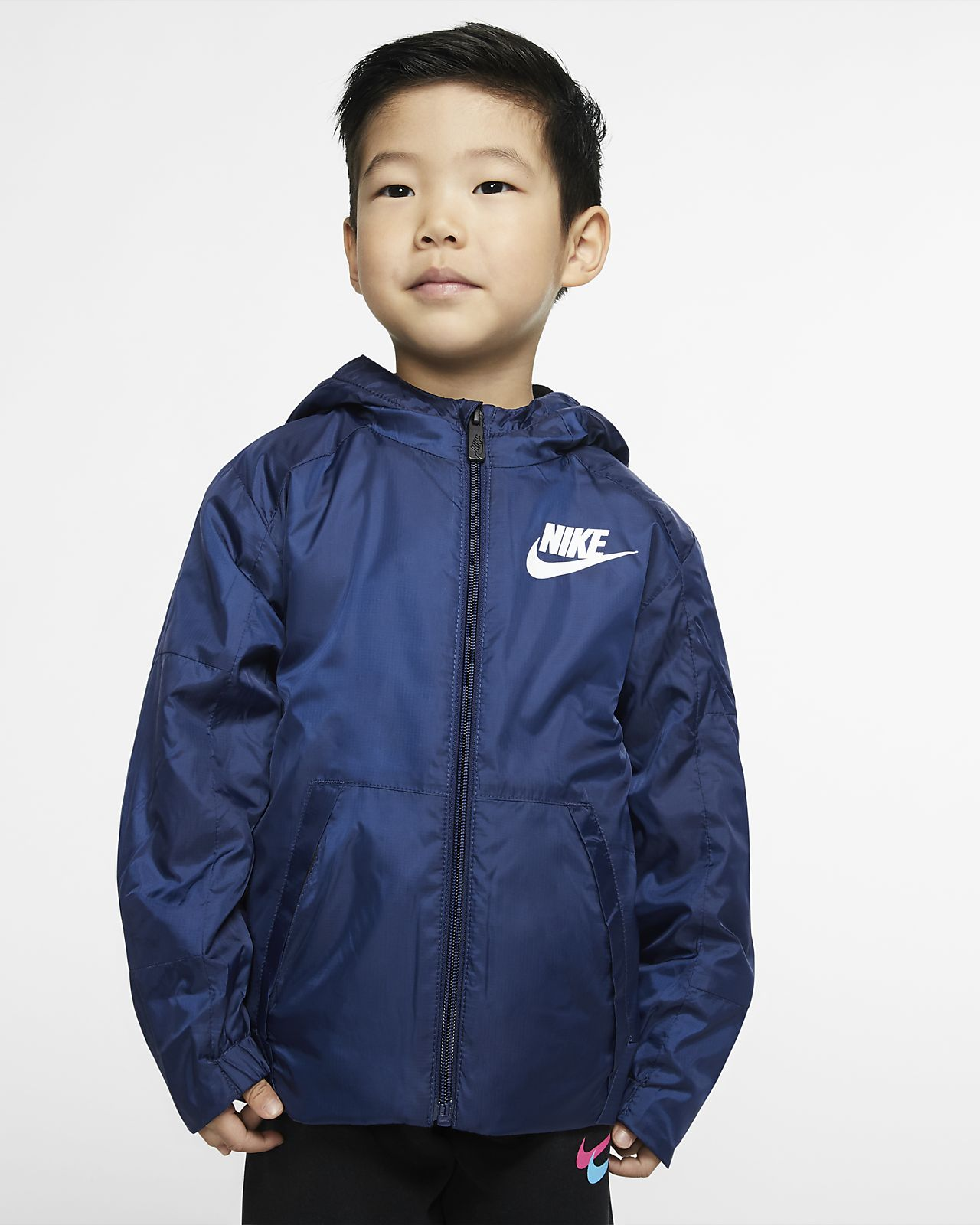 Bunda Nike Sportswear se zipem po celé délce pro batolata