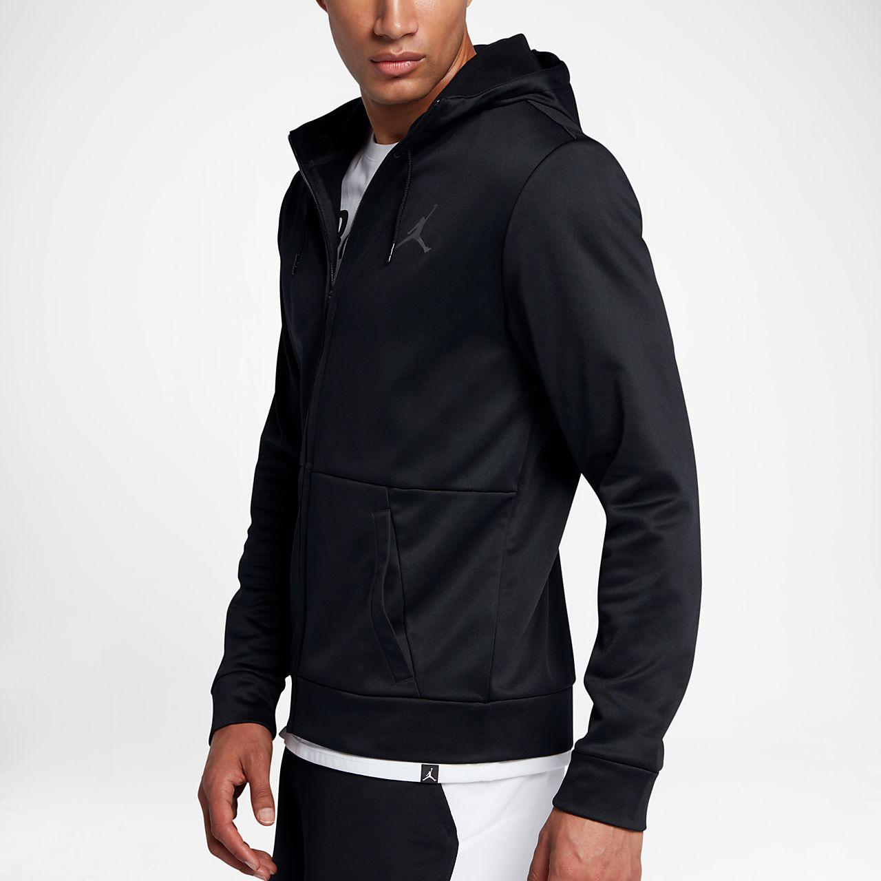 65bdc6185315fd Jordan Therma 23 Alpha Men s Full-Zip Hoodie. Nike.com NZ