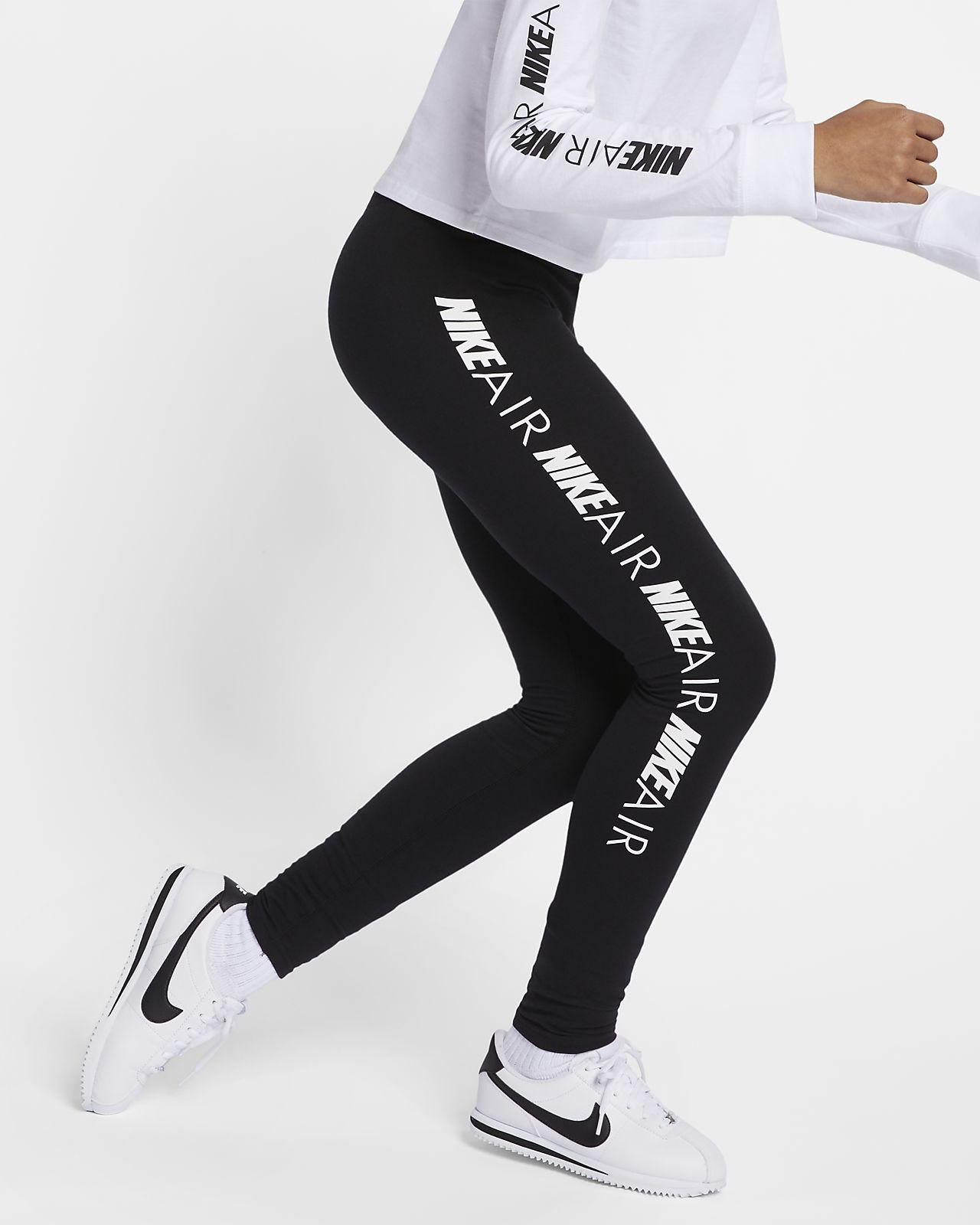Leggings Nike Air för ungdom (tjejer)