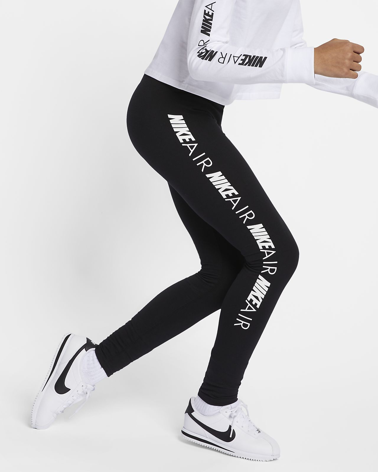 Leggings Nike Air Júnior (Rapariga)